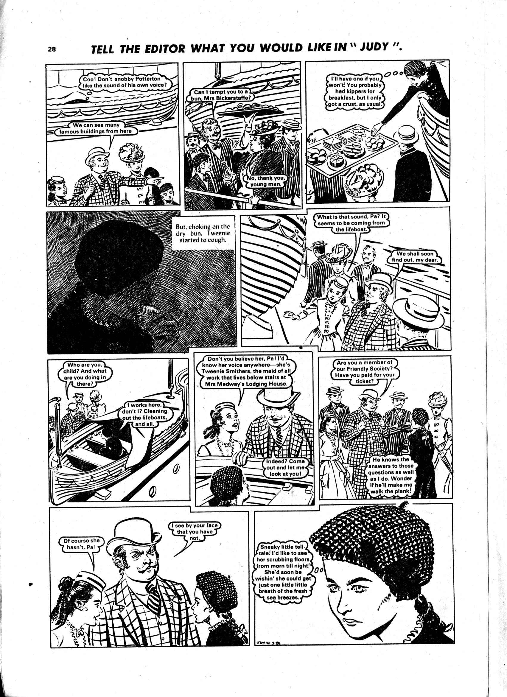 Read online Judy comic -  Issue #1102 - 28