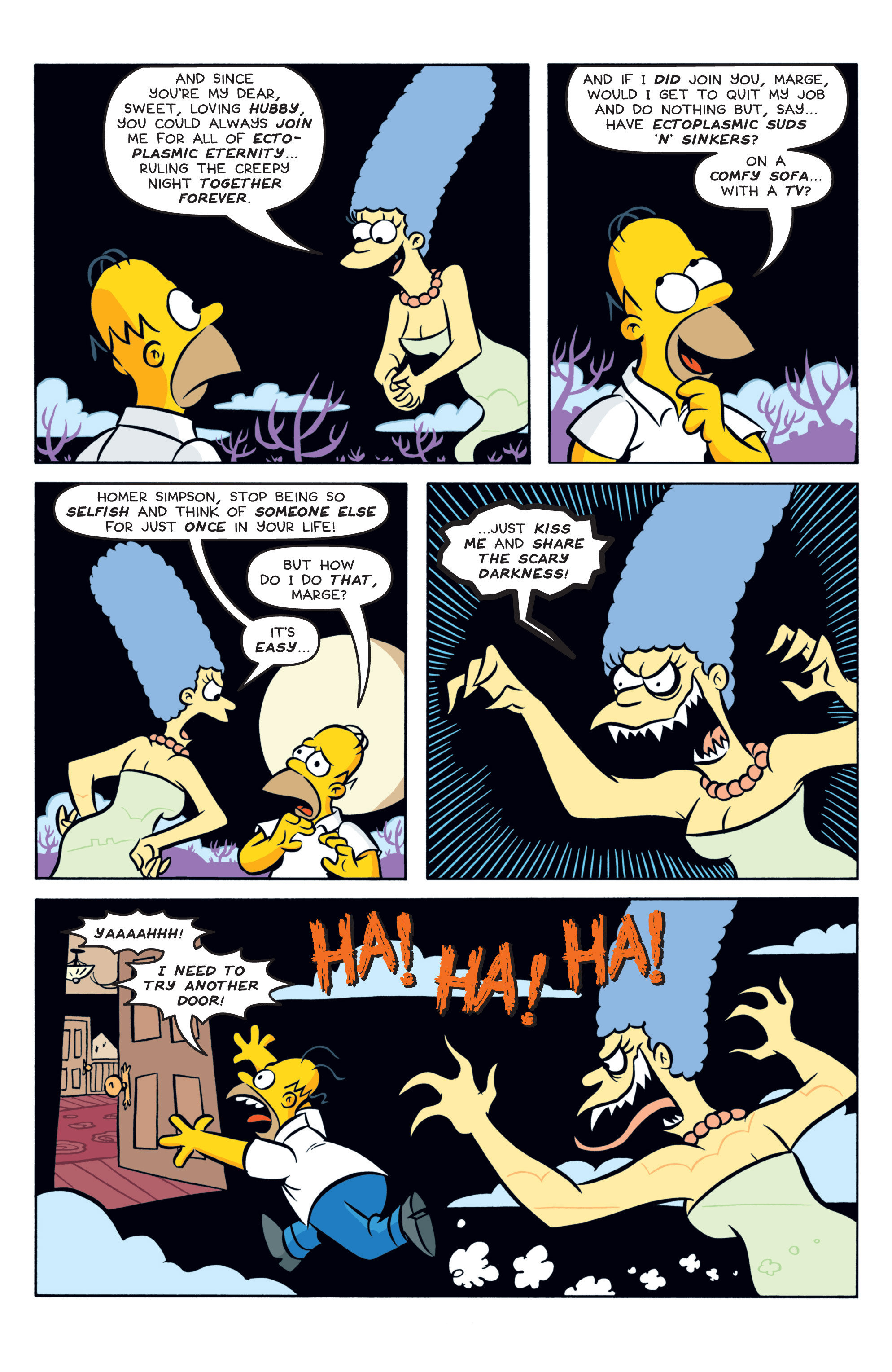 Read online Treehouse of Horror comic -  Issue #19 - 10