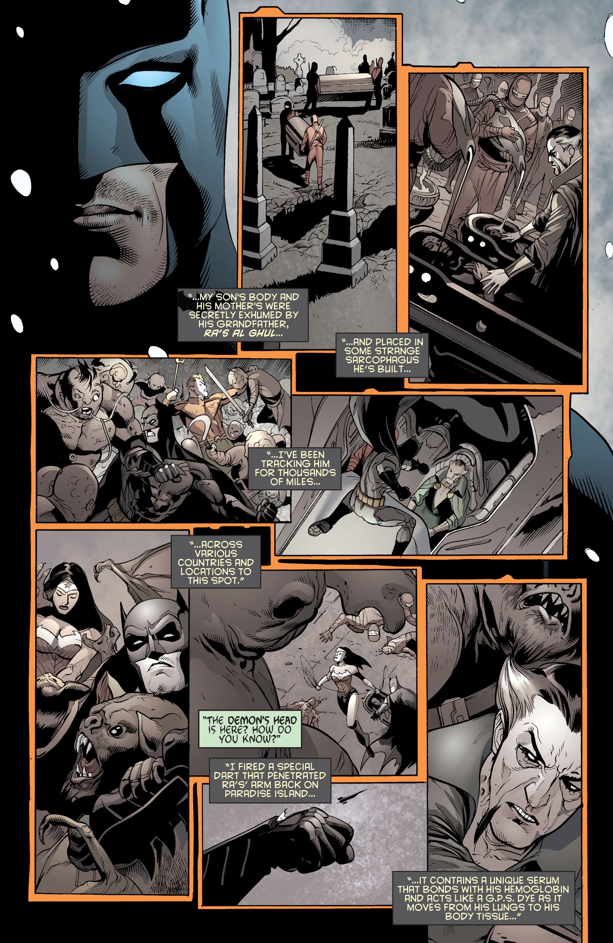 Read online Batman and Robin (2011) comic -  Issue #31 - Batman and Frankenstein - 11