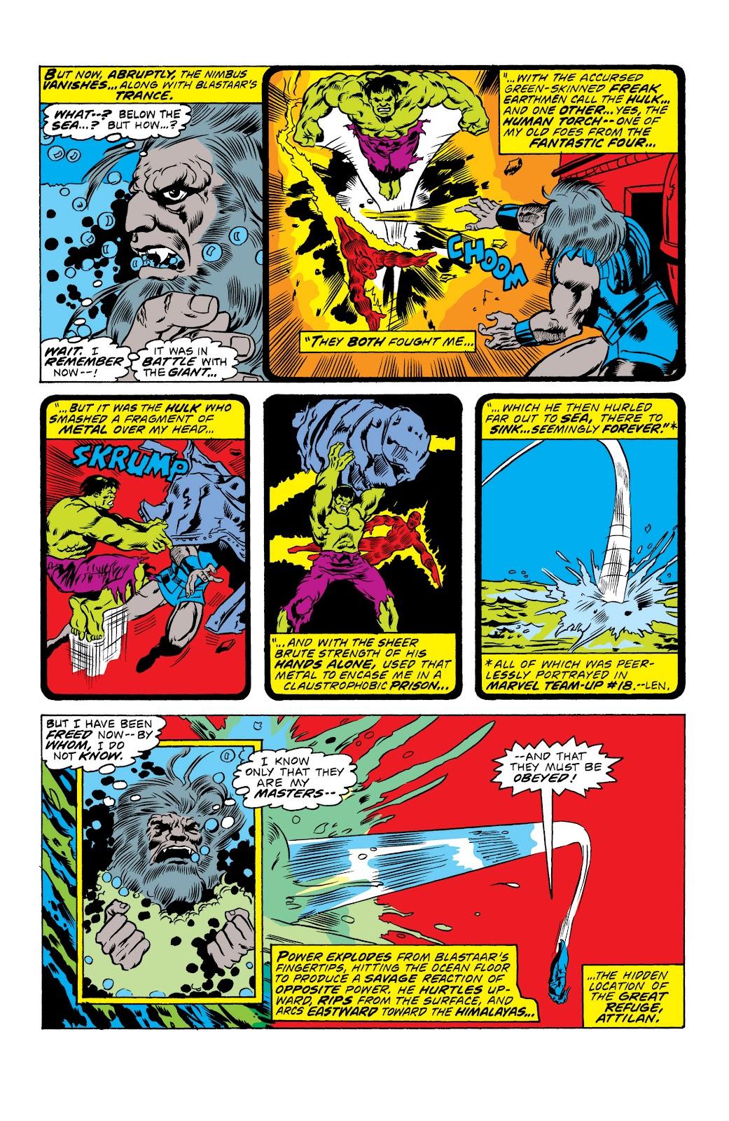 Read online Marvel Masterworks: The Inhumans comic -  Issue # TPB 2 (Part 1) - 14