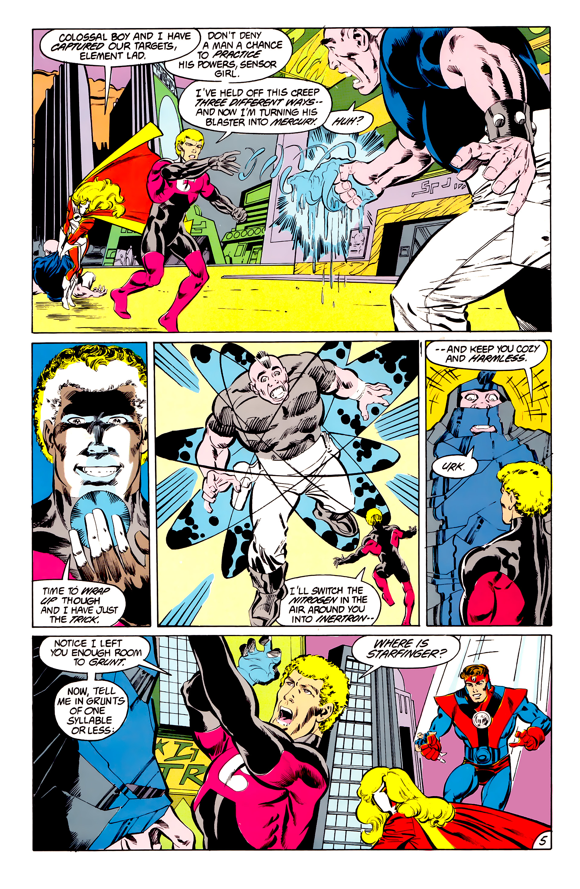 Legion of Super-Heroes (1984) 41 Page 5