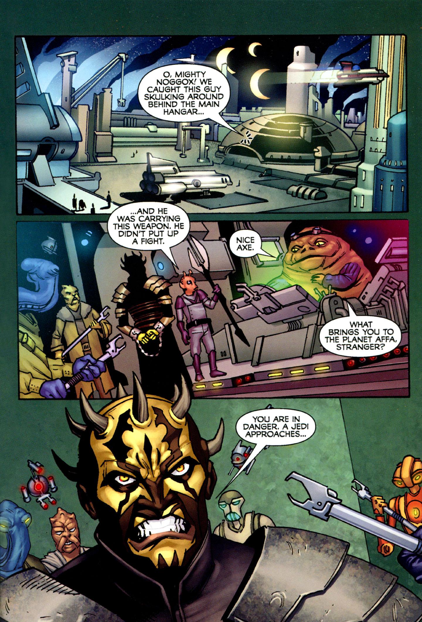 Read online Star Wars: The Clone Wars - Strange Allies comic -  Issue # Full - 28