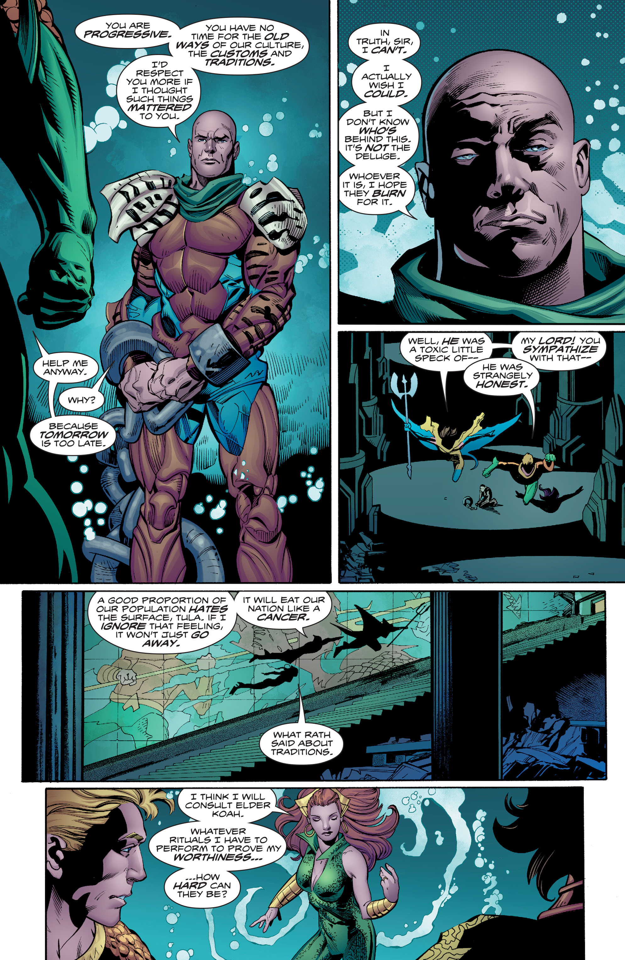 Read online Aquaman (2016) comic -  Issue #7 - 16