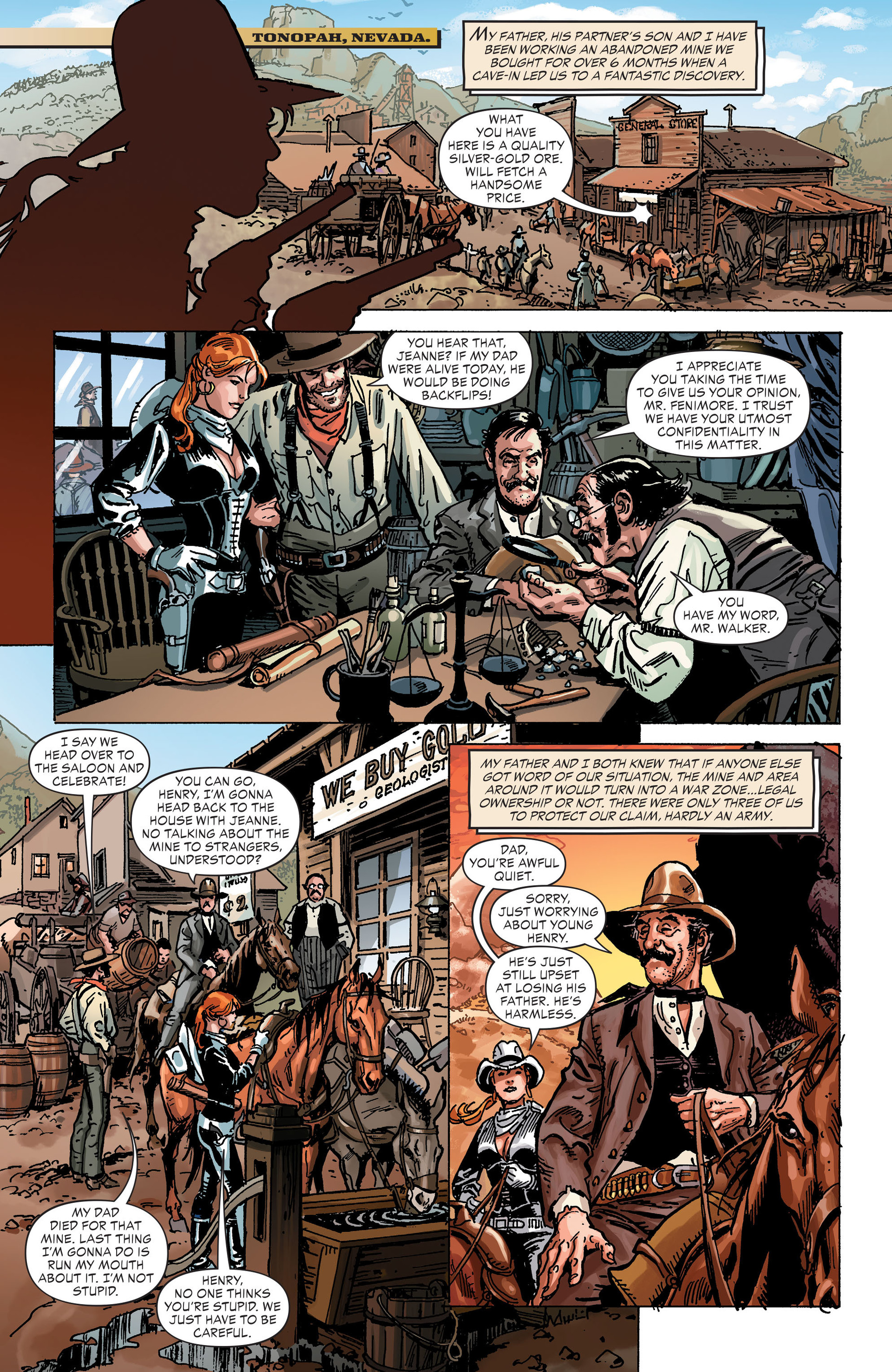Read online All-Star Western (2011) comic -  Issue #30 - 16