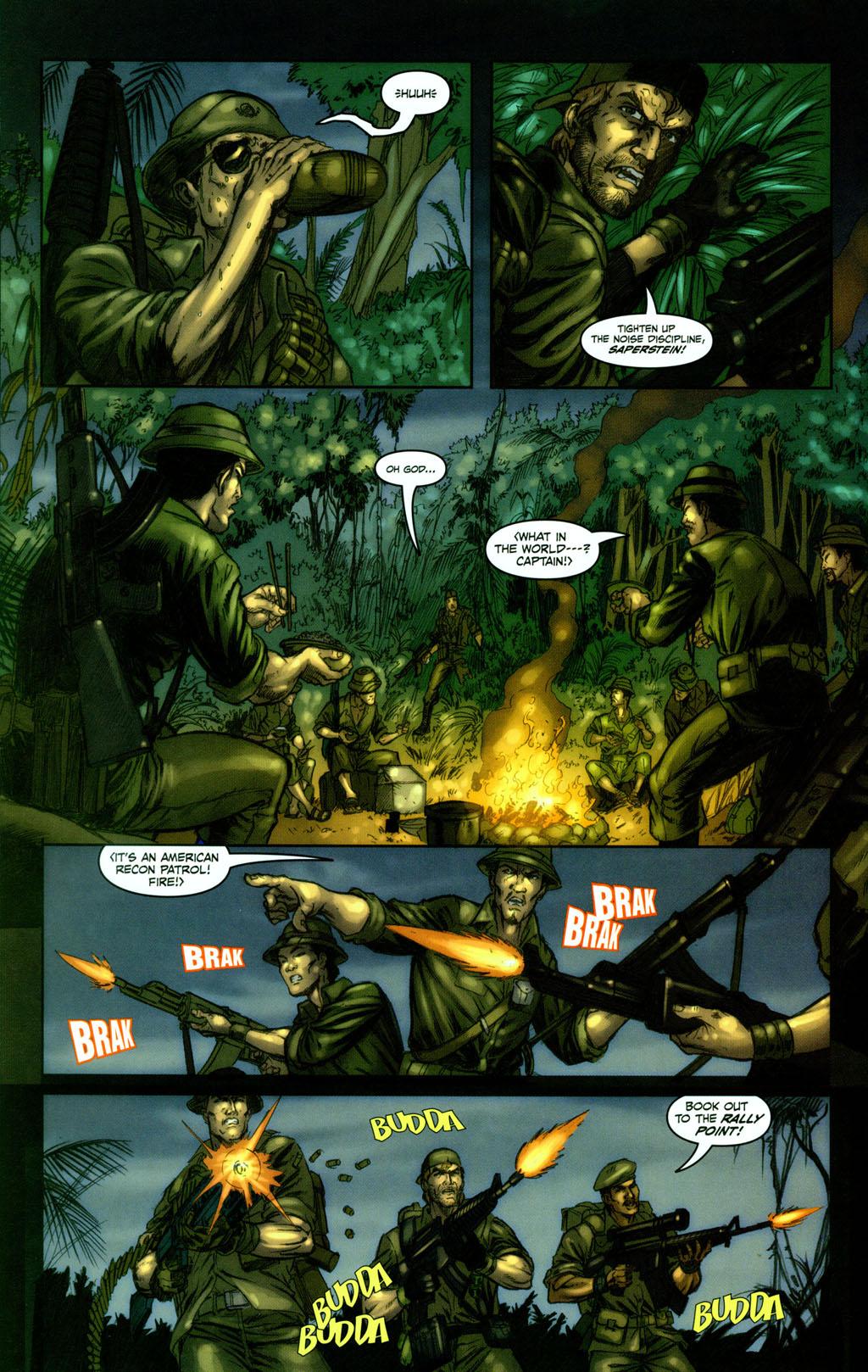 Read online Snake Eyes: Declassified comic -  Issue #1 - 17