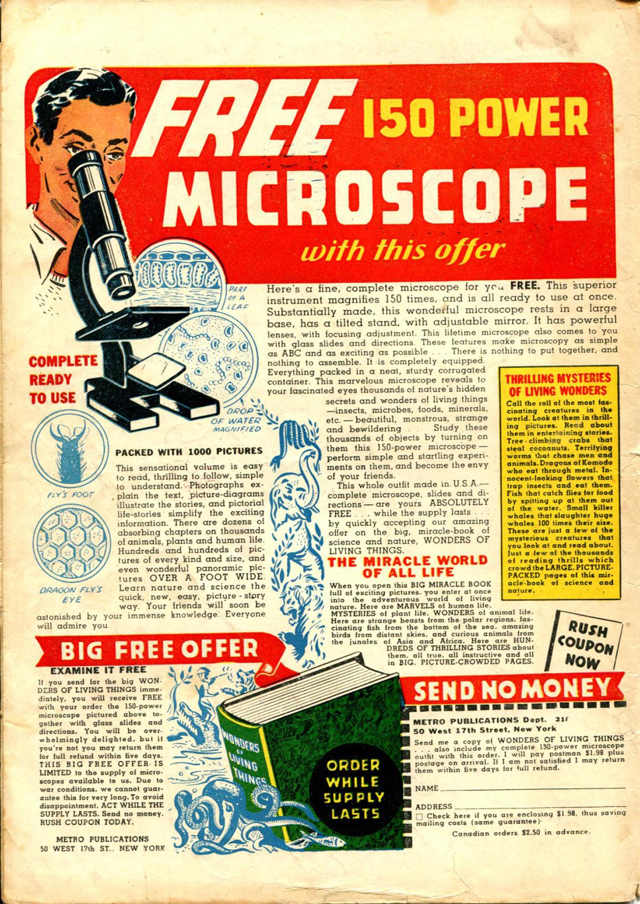 Read online Shadow Comics comic -  Issue #30 - 68