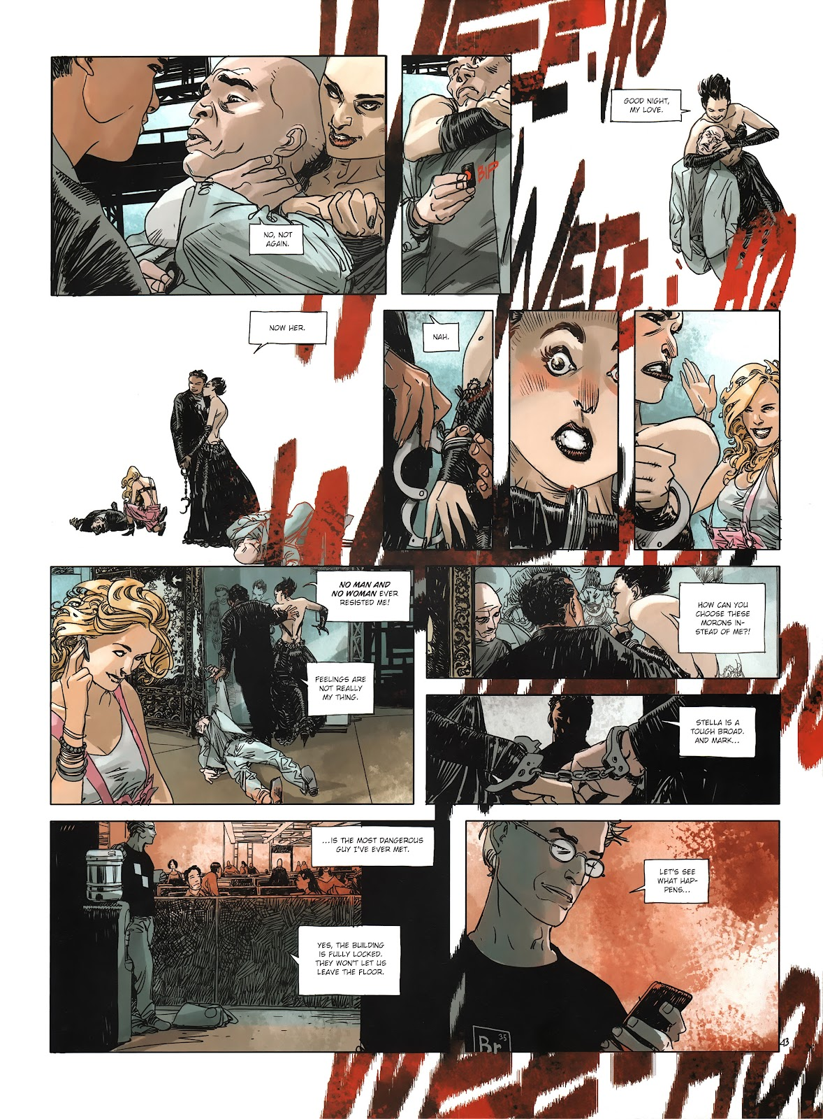 Read online Cutting Edge (2013) comic -  Issue #3 - 42