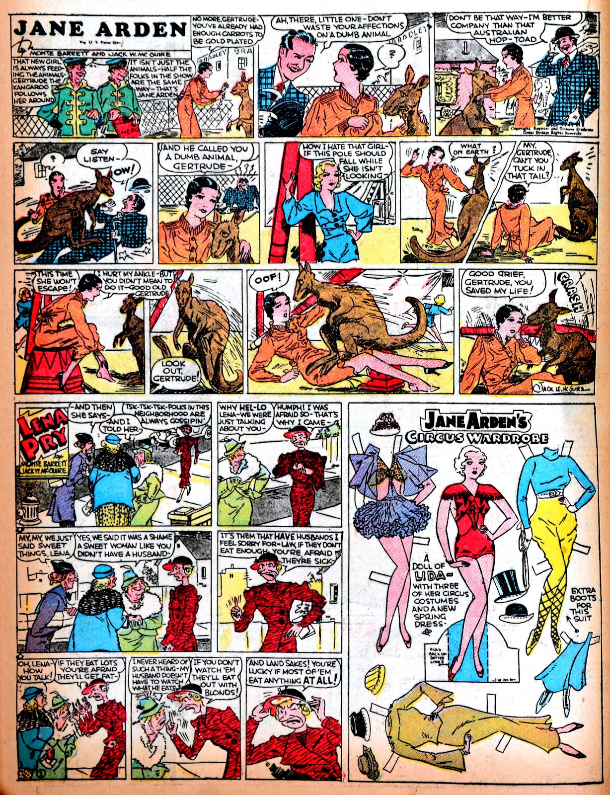 Read online Famous Funnies comic -  Issue #11 - 44