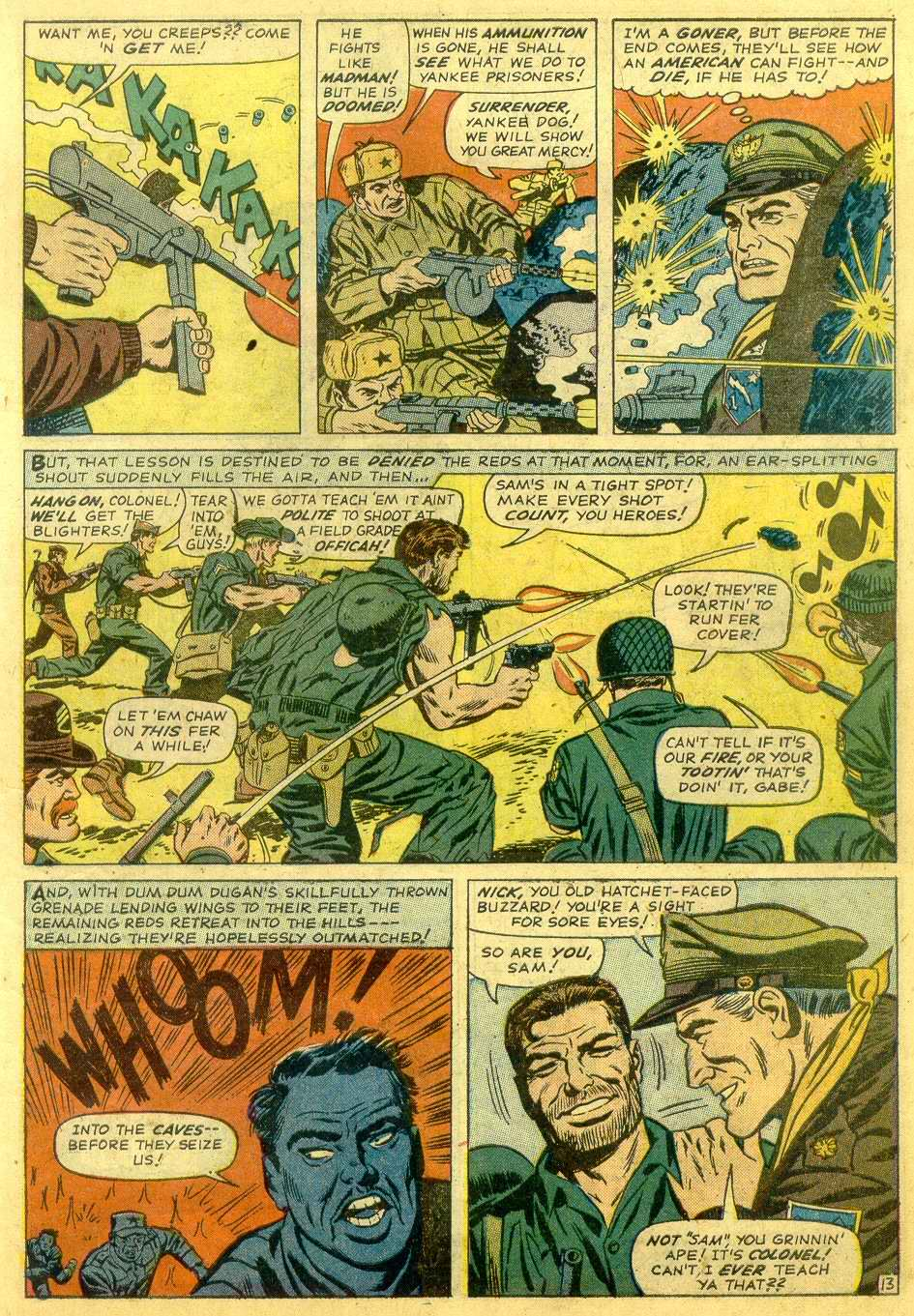 Read online Sgt. Fury comic -  Issue # _Annual 1 - 15