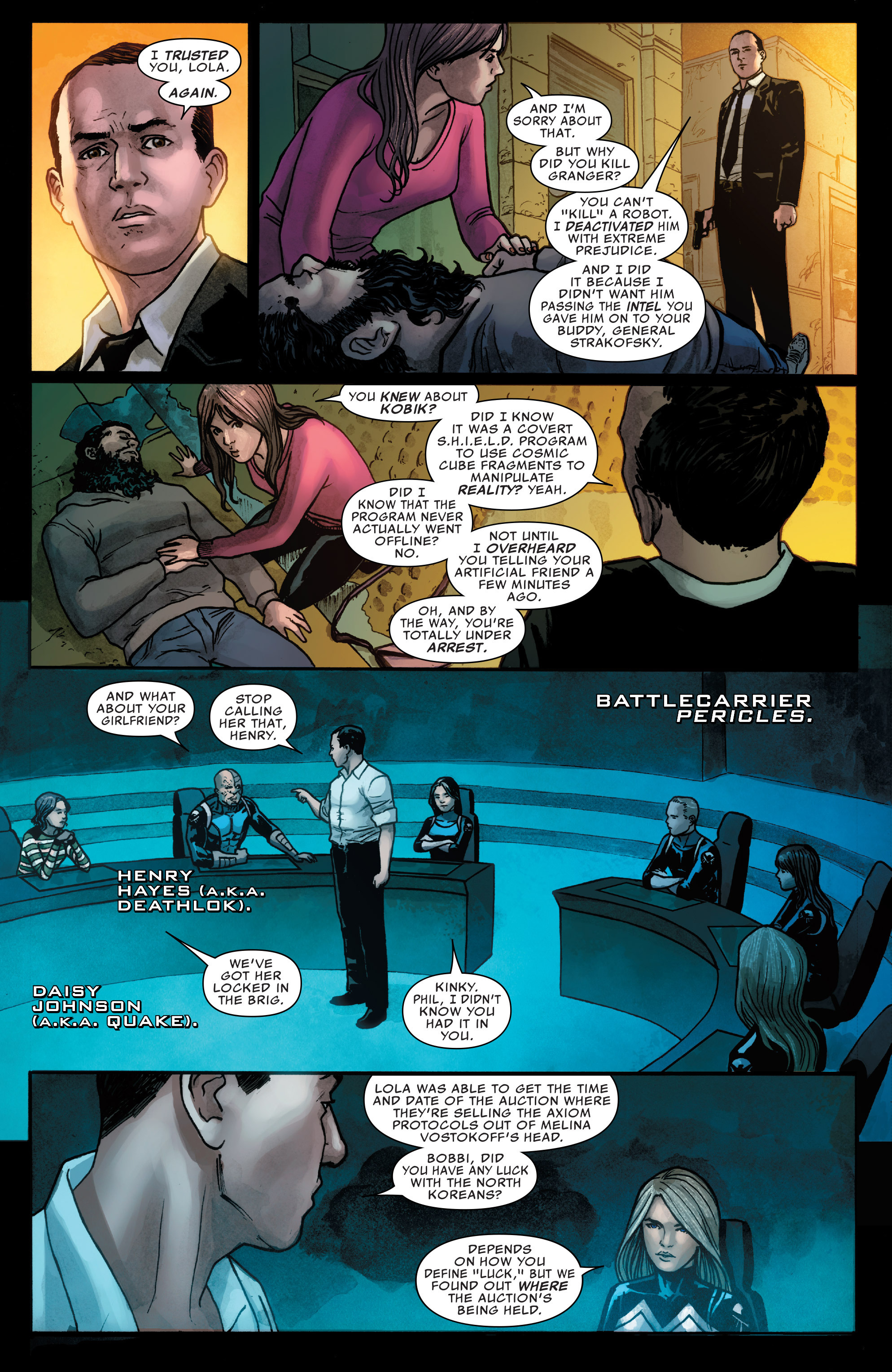 Read online Agents of S.H.I.E.L.D. comic -  Issue #3 - 7