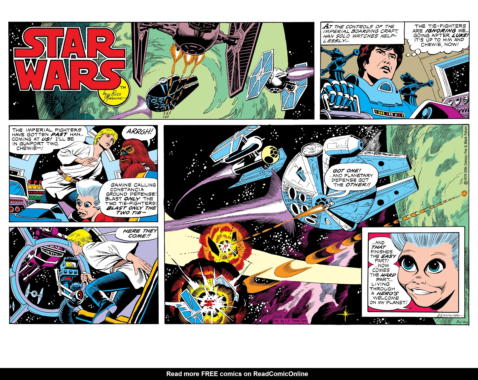 Read online Star Wars Legends: The Newspaper Strips - Epic Collection comic -  Issue # TPB (Part 1) - 24