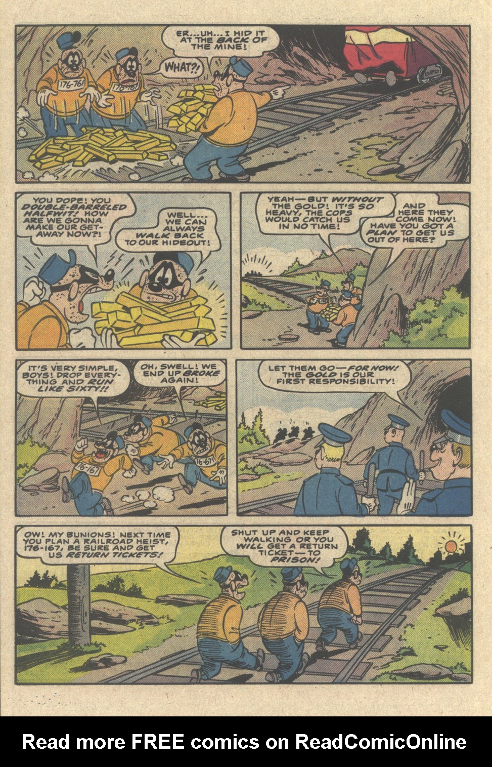 Read online Uncle Scrooge (1953) comic -  Issue #218 - 22