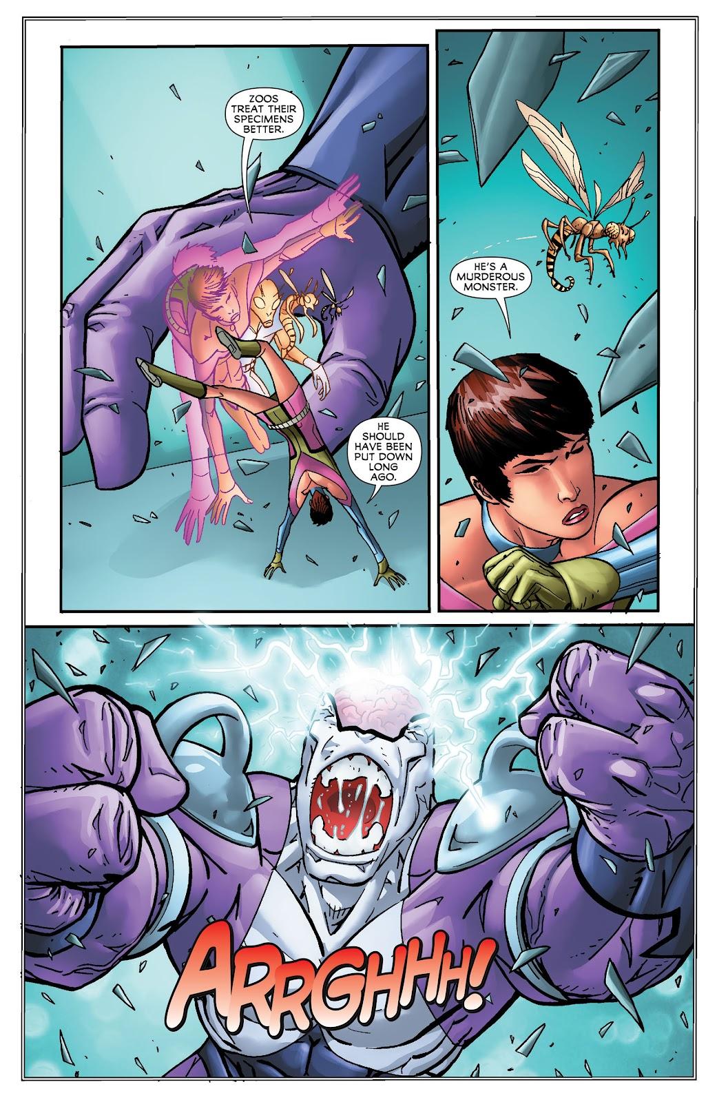 Legion of Super-Heroes (2011) Issue #16 #17 - English 9