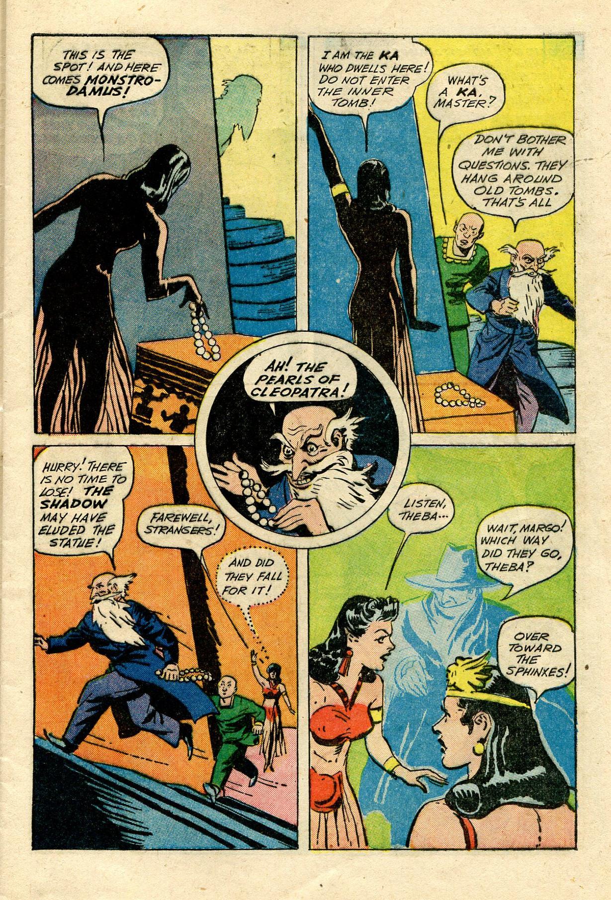Read online Shadow Comics comic -  Issue #33 - 15