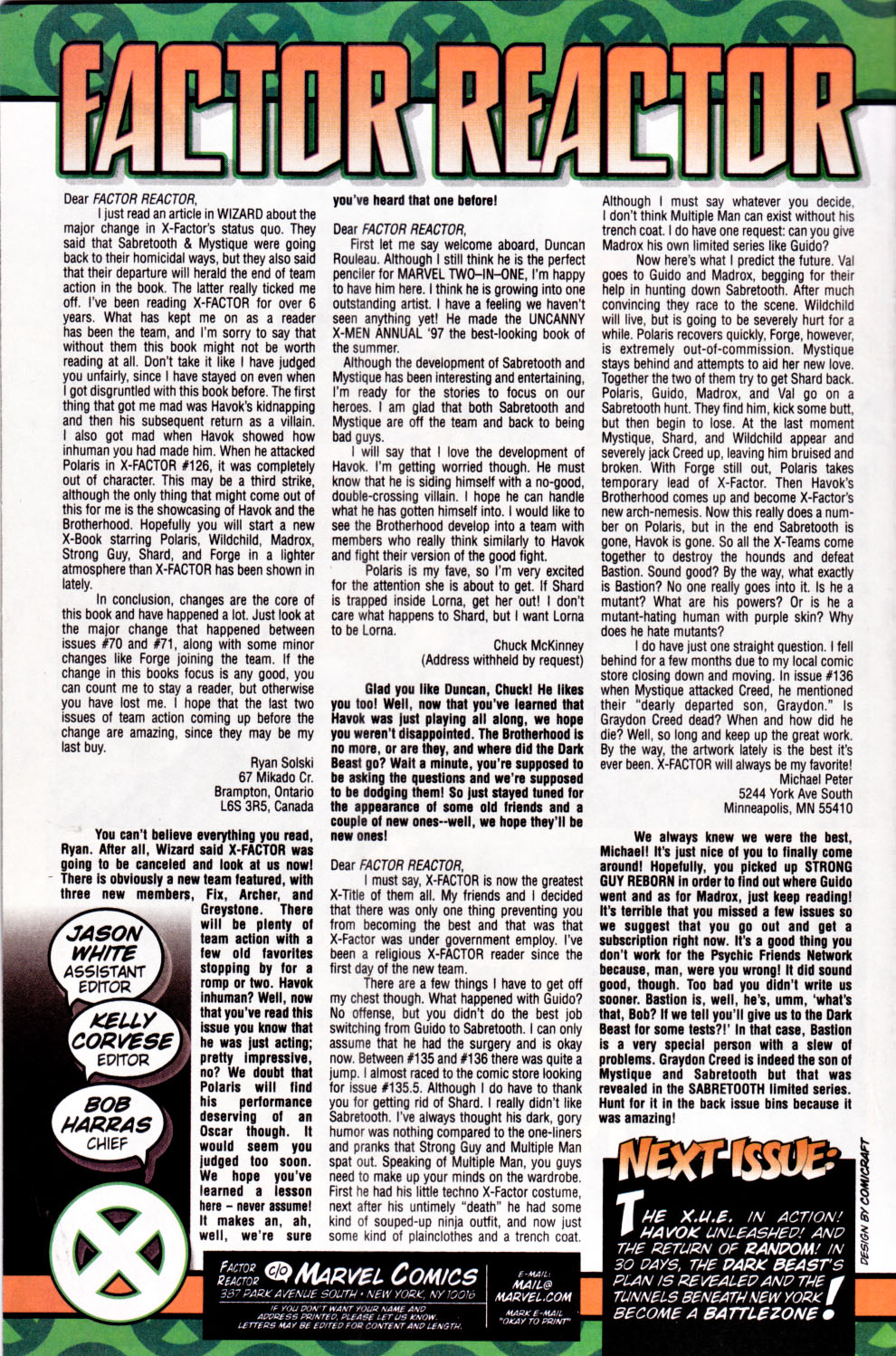 Read online X-Factor (1986) comic -  Issue #143 - 23