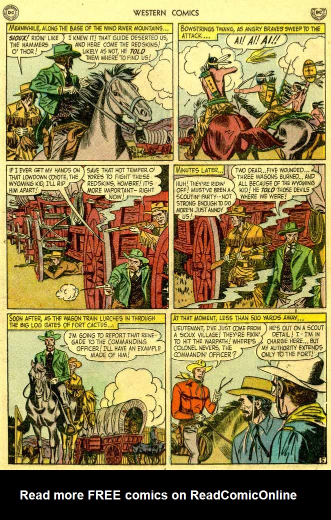 Western Comics issue 23 - Page 7