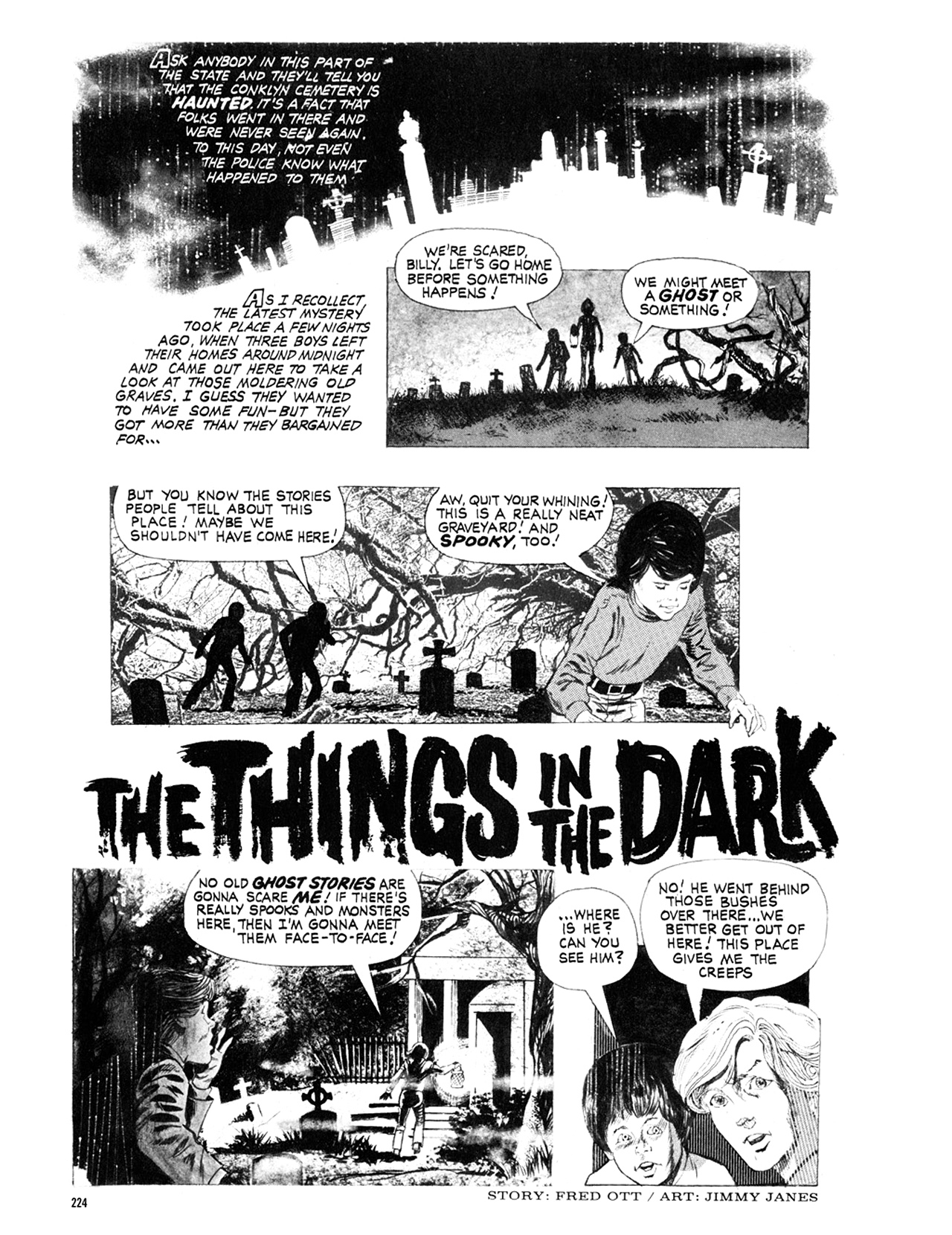 Read online Eerie Archives comic -  Issue # TPB 9 - 225