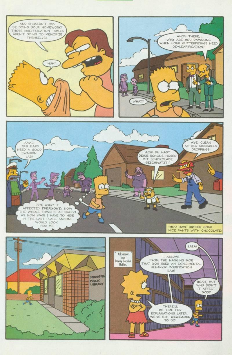 Read online Simpsons Comics comic -  Issue #41 - 26