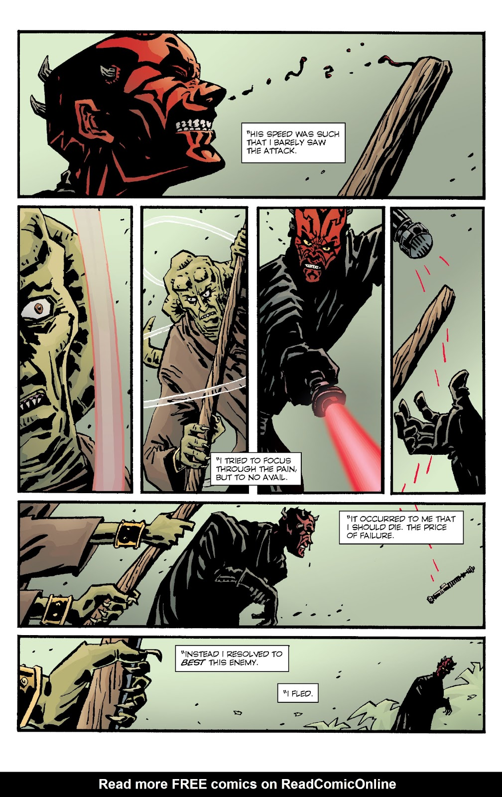 Read online Star Wars Legends: Rise of the Sith - Epic Collection comic -  Issue # TPB 1 (Part 4) - 49