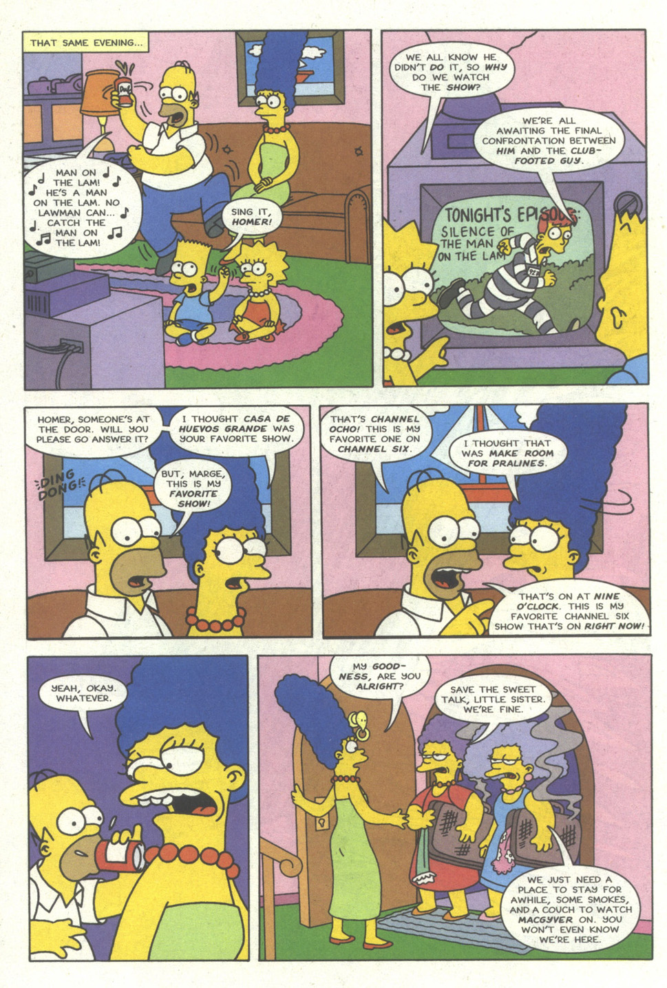 Read online Simpsons Comics comic -  Issue #16 - 7