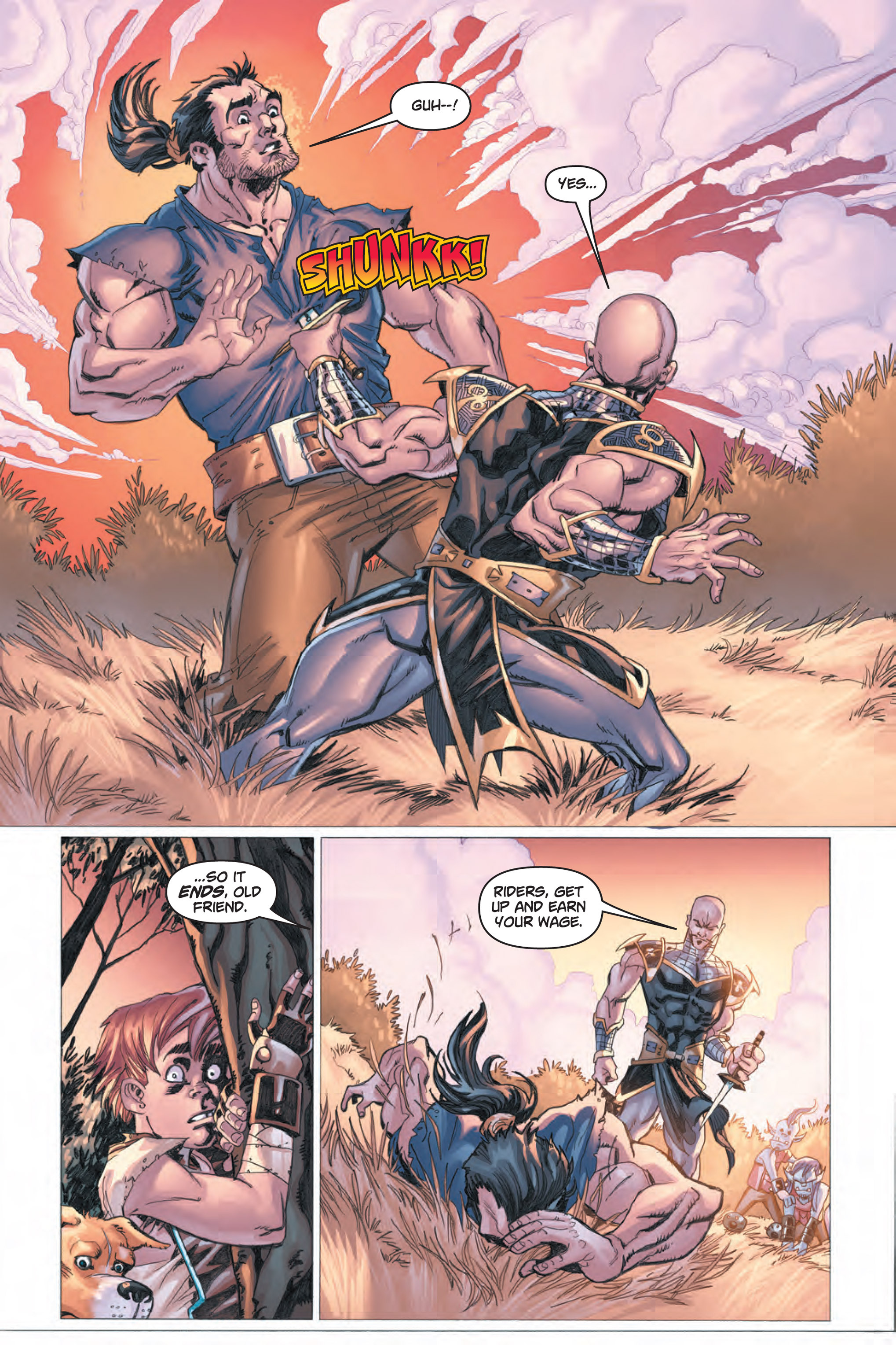 Read online Skyward comic -  Issue #1 - 26