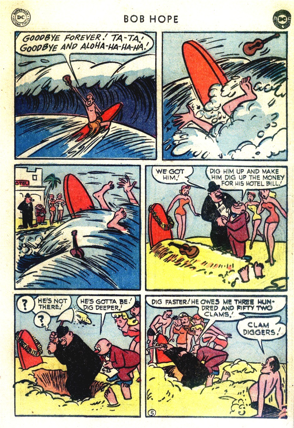 The Adventures of Bob Hope issue 27 - Page 29