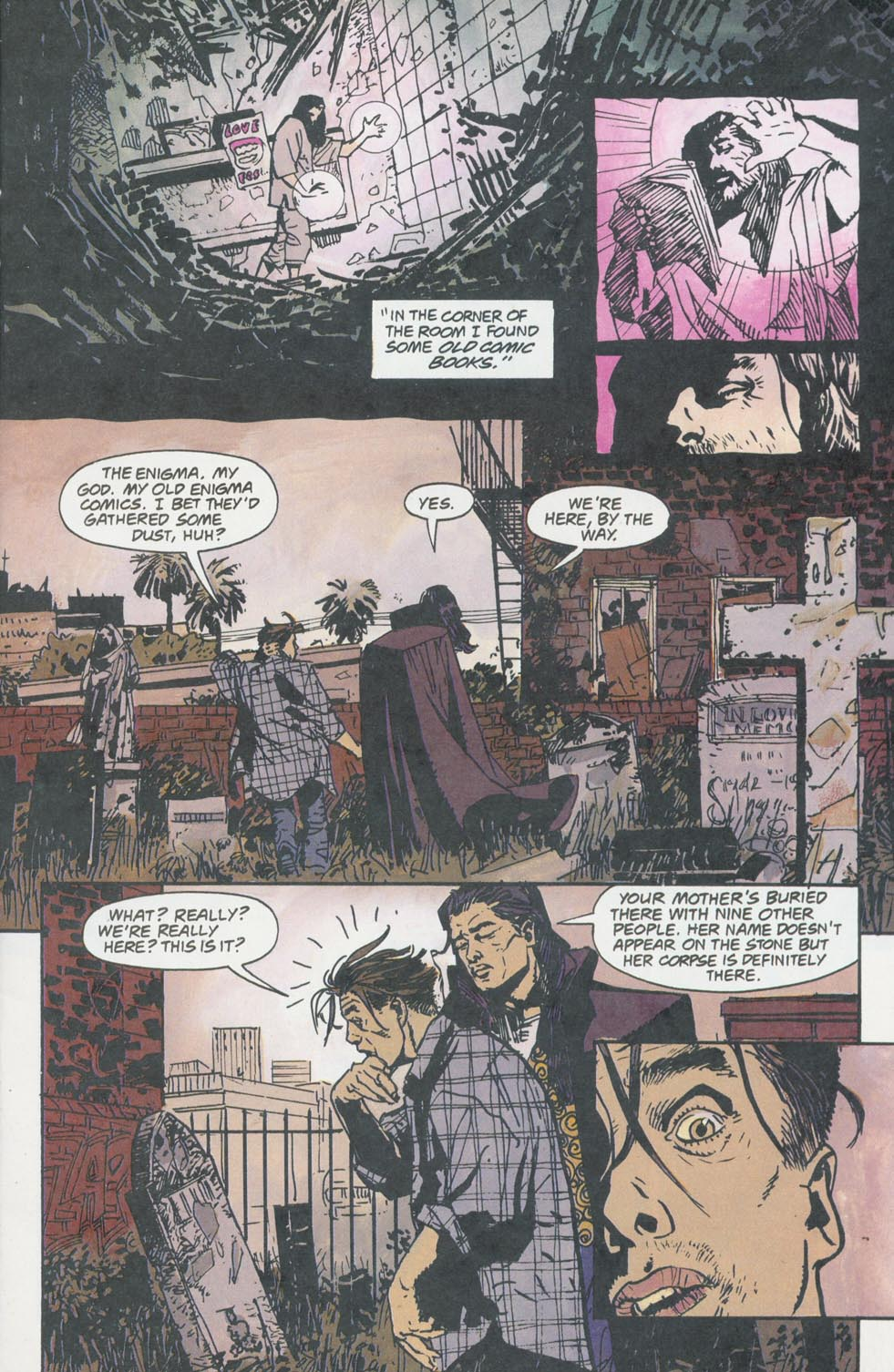 Read online Enigma comic -  Issue #8 - 10