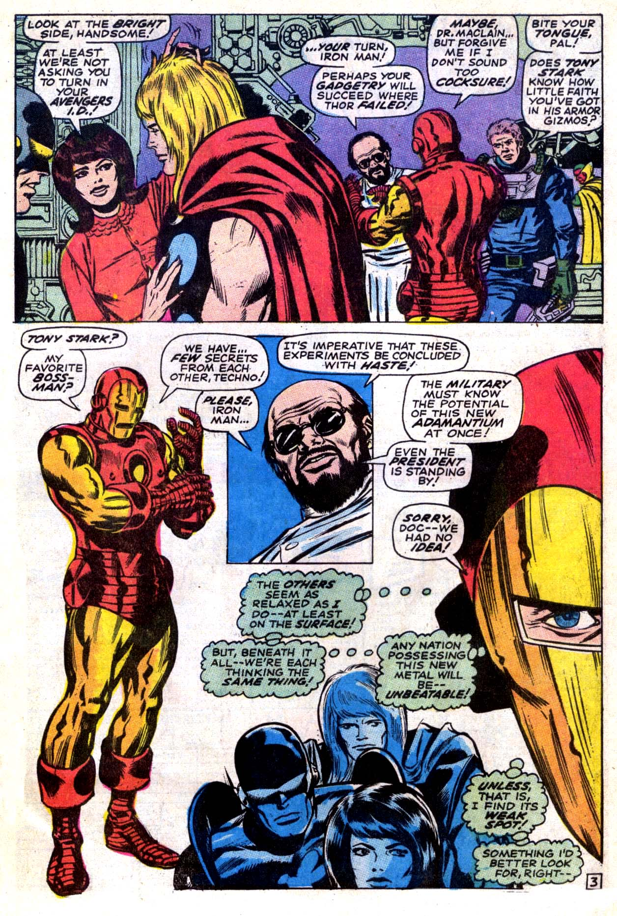 The Avengers (1963) 66 Page 3