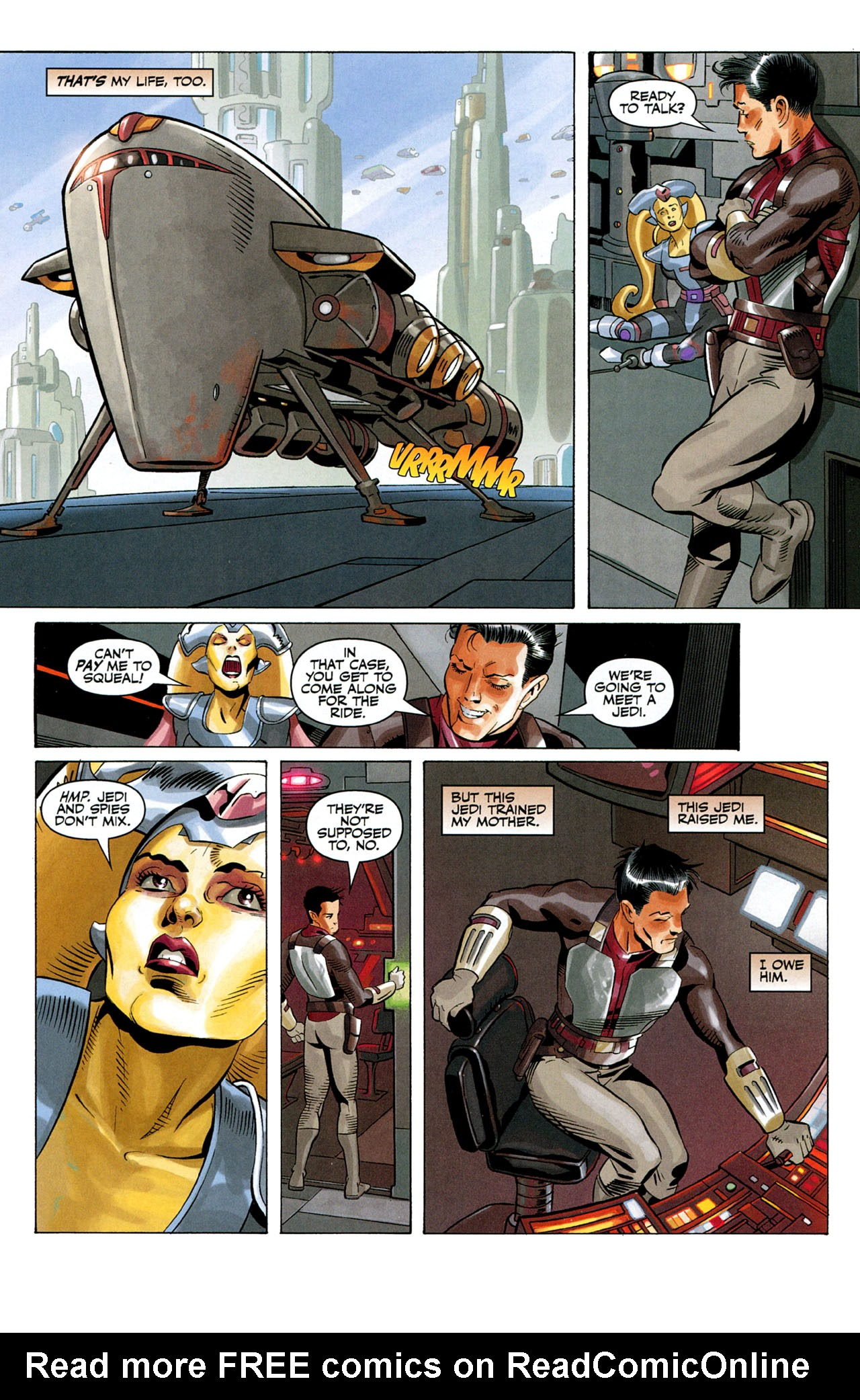 Read online Star Wars: The Old Republic - The Lost Suns comic -  Issue #1 - 19