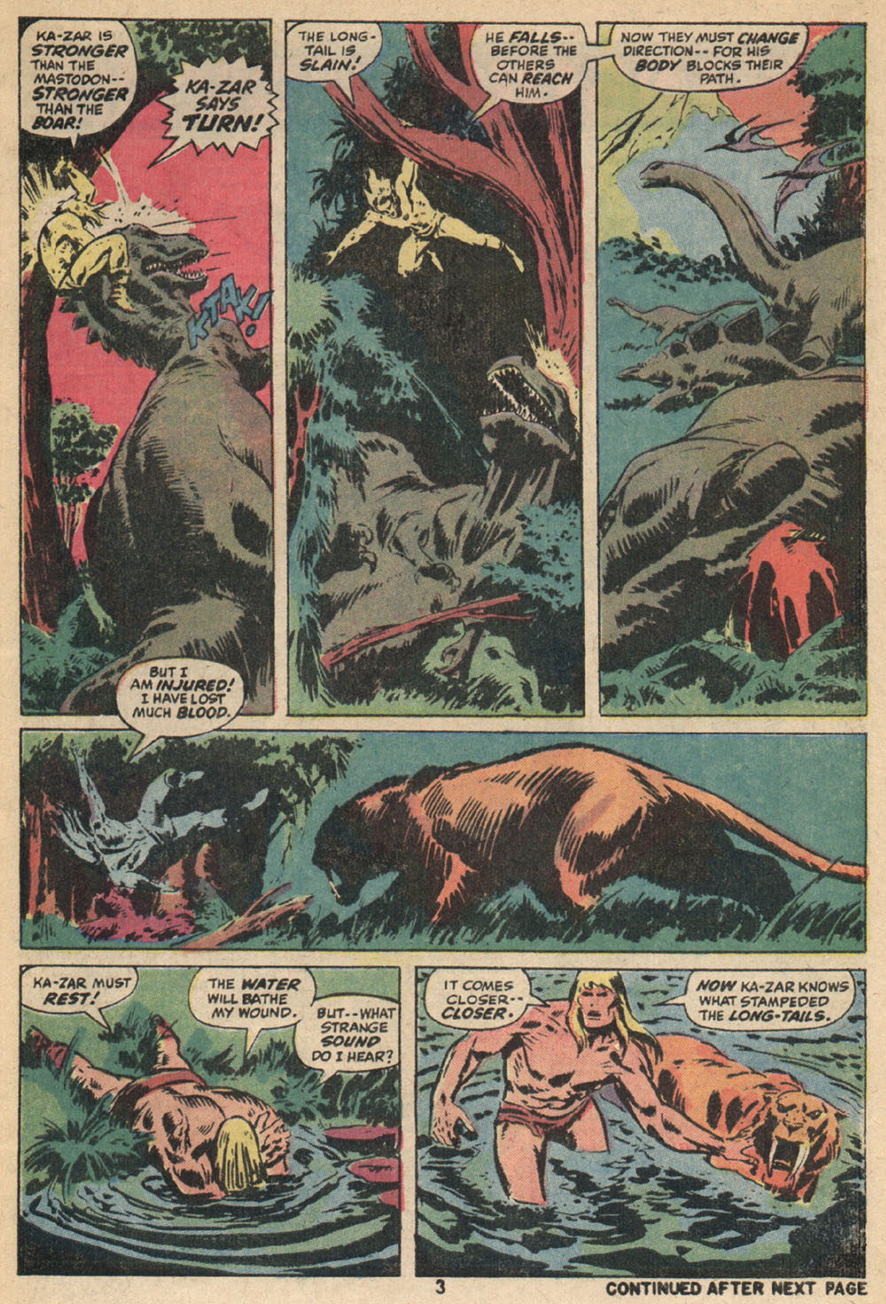 Astonishing Tales (1970) issue 14 - Page 4