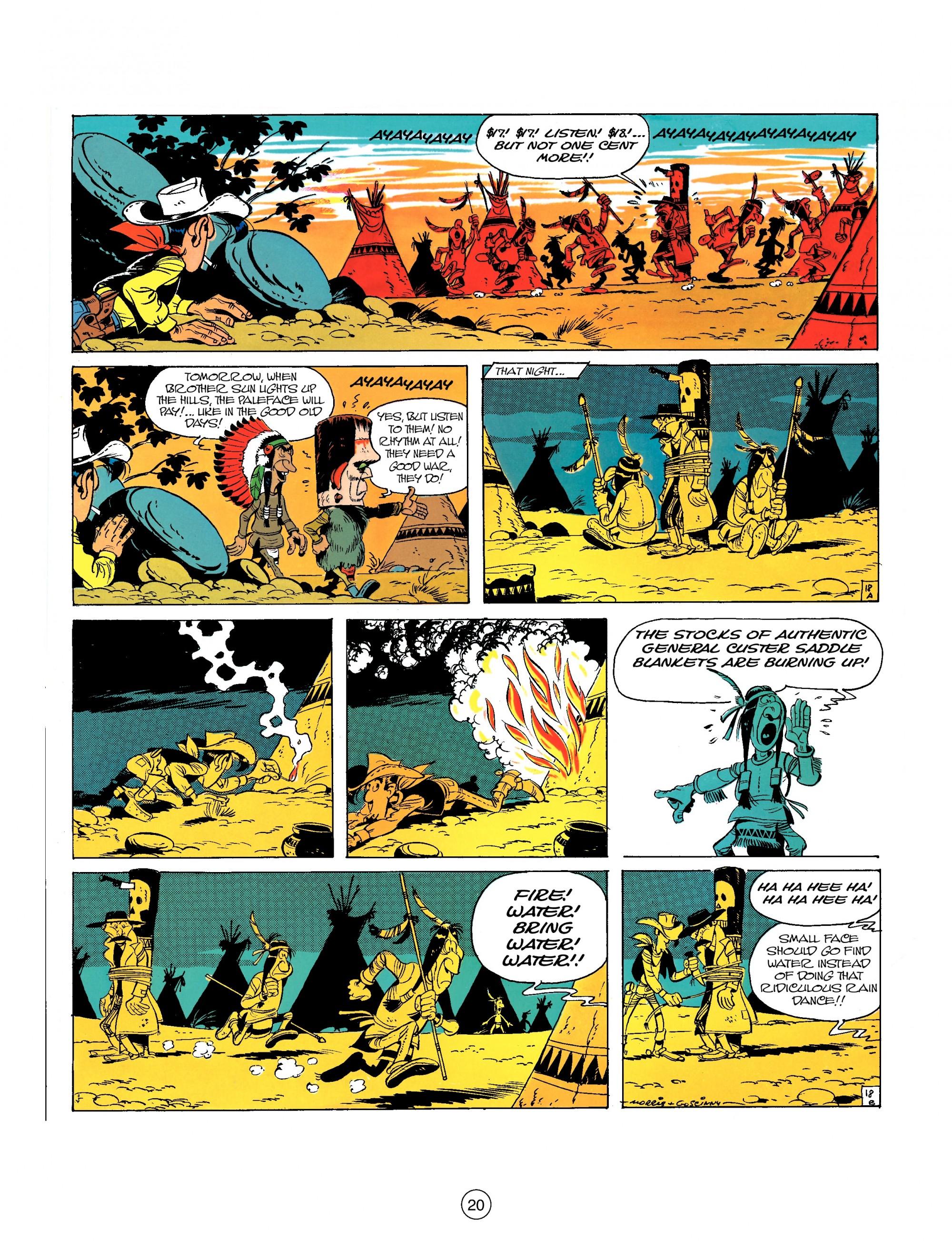 Read online A Lucky Luke Adventure comic -  Issue #26 - 20