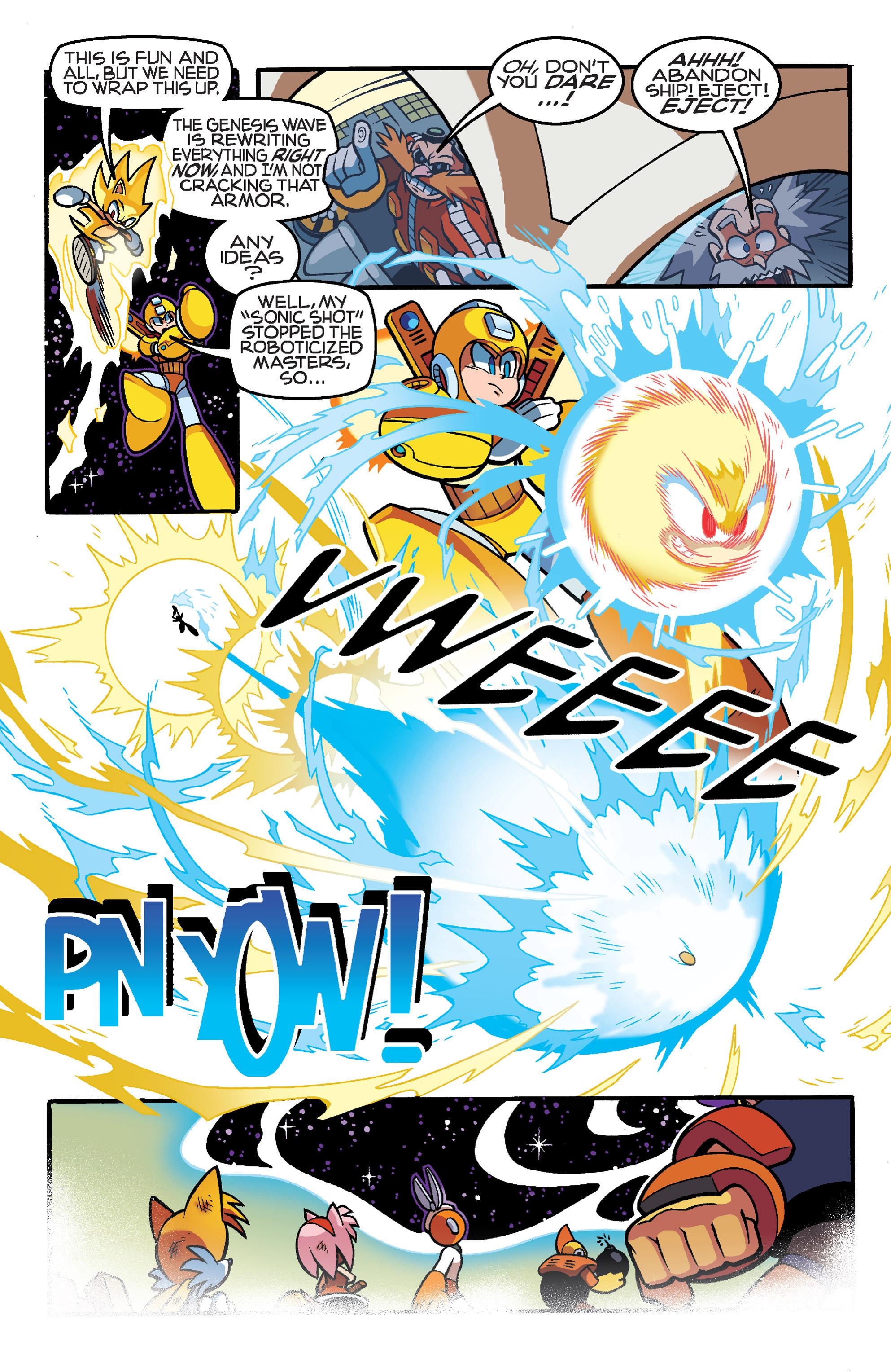 Read online Sonic Mega Man Worlds Collide comic -  Issue # Vol 3 - 111