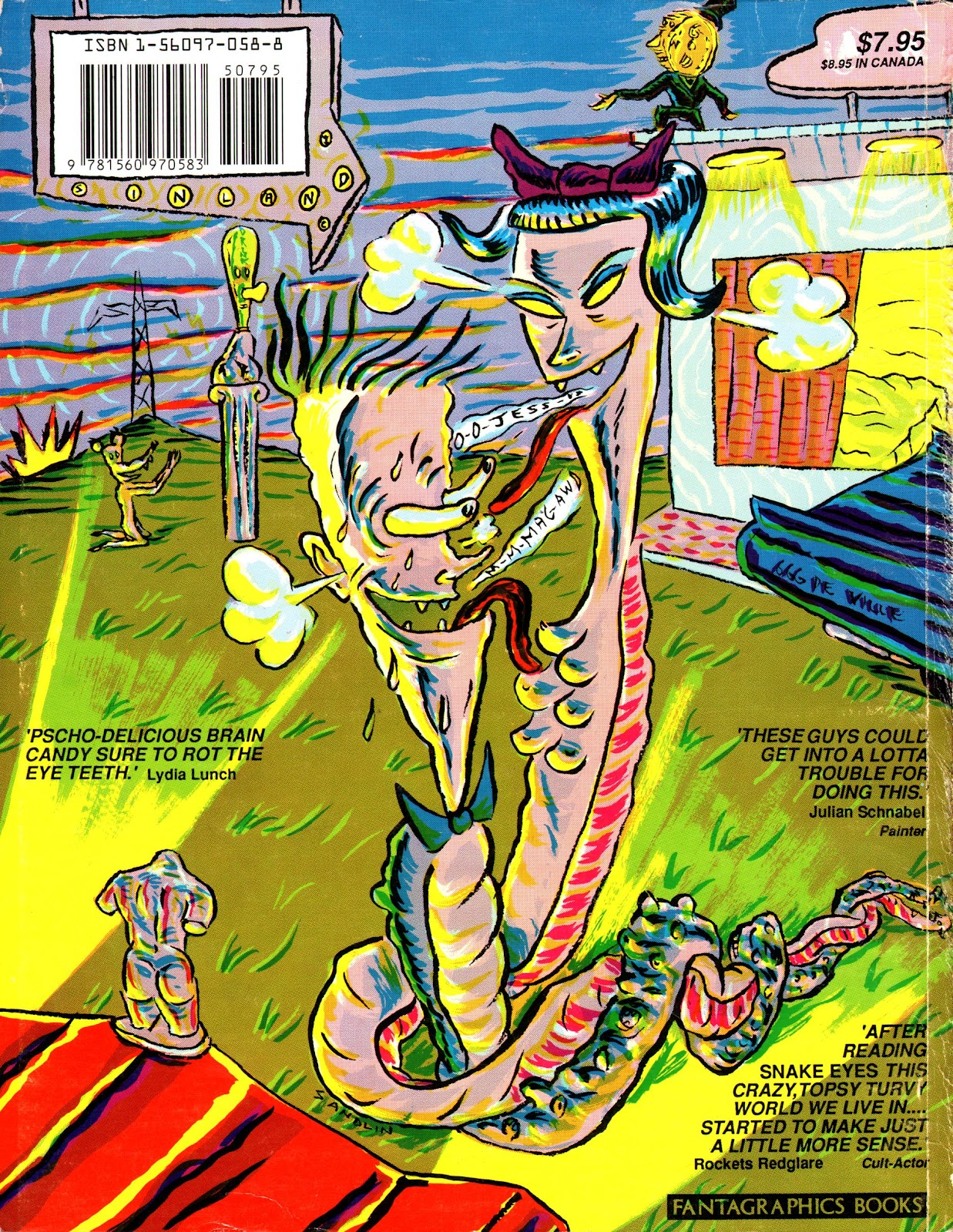 Read online Snake Eyes comic -  Issue #1 - 85