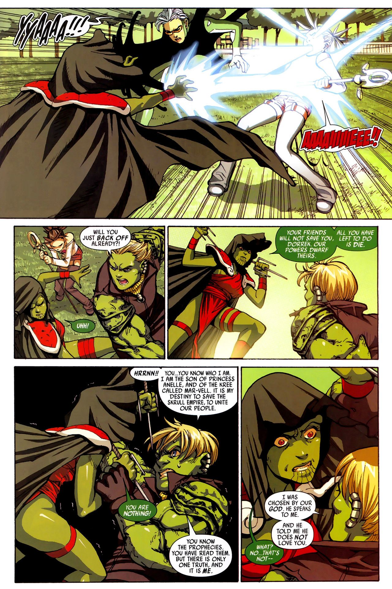 Read online Secret Invasion: Runaways/Young Avengers comic -  Issue #3 - 19