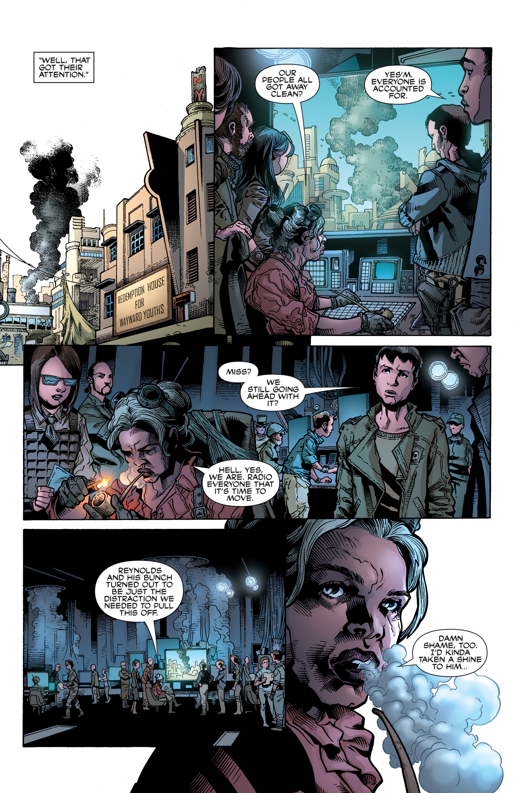 Read online Serenity: Firefly Class 03-K64 – No Power in the 'Verse comic -  Issue #5 - 20