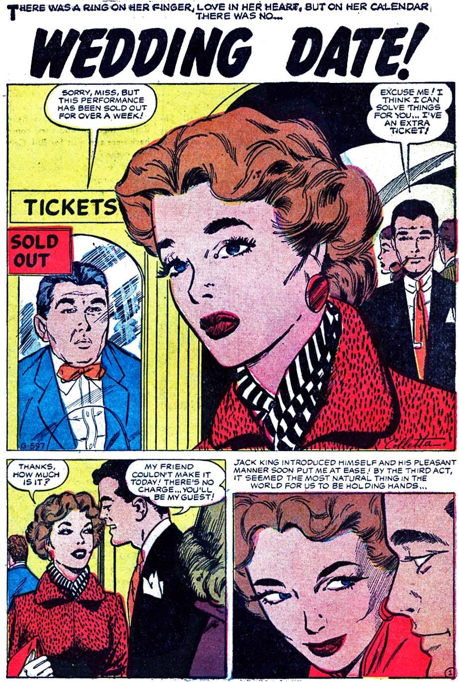 Love Romances (1949) issue 52 - Page 27