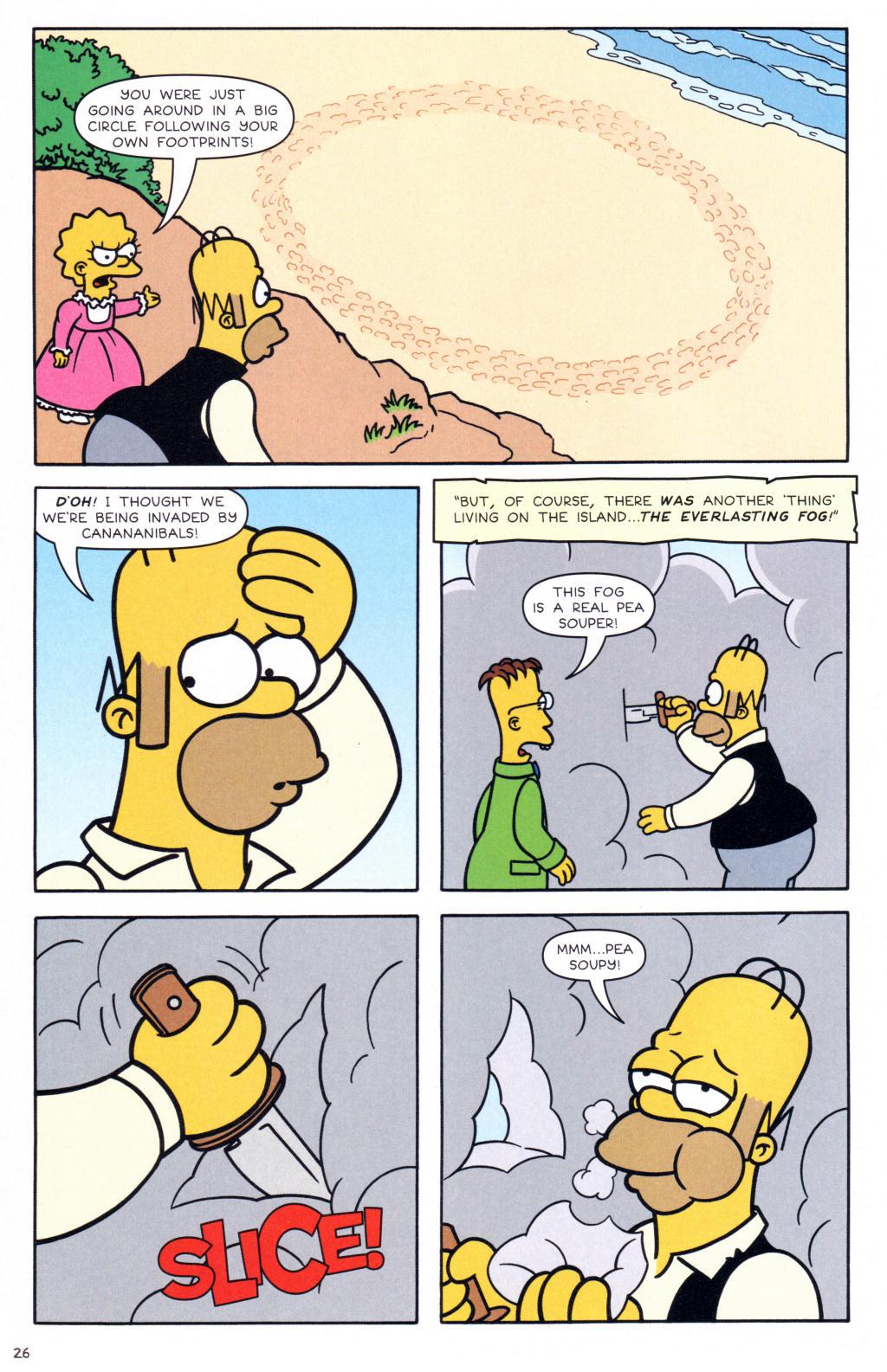 Read online Simpsons Comics comic -  Issue #127 - 21