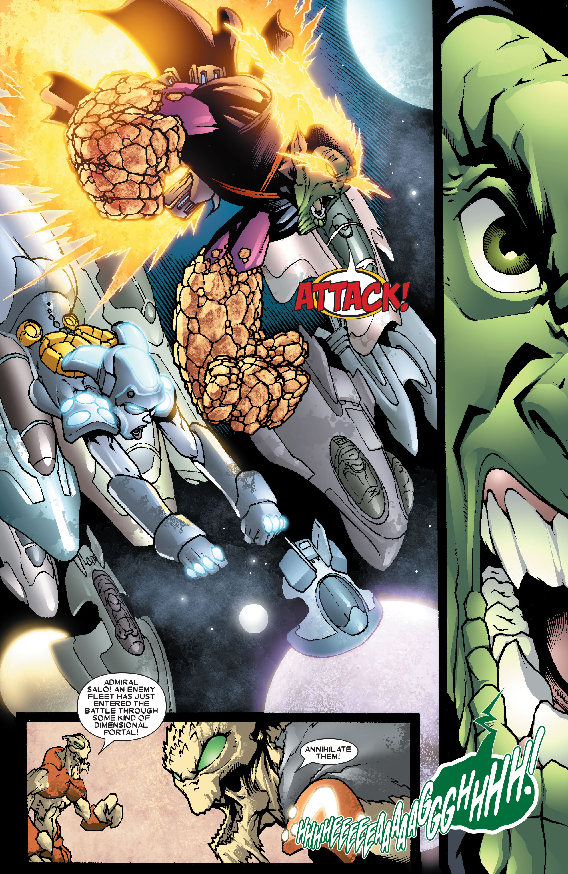 Read online Annihilation: Super-Skrull comic -  Issue #3 - 20