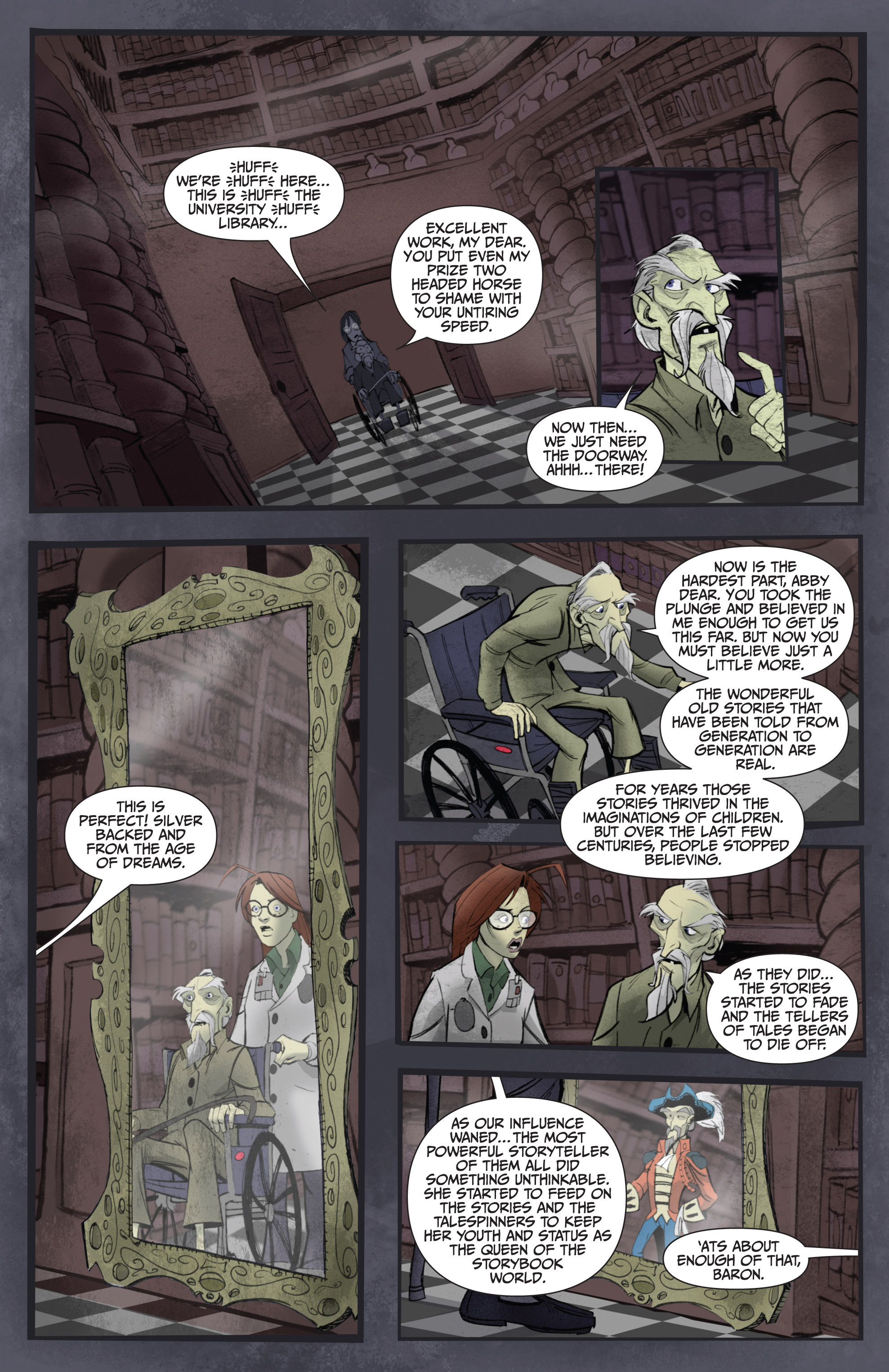 Read online Legendary Talespinners comic -  Issue #1 - 22