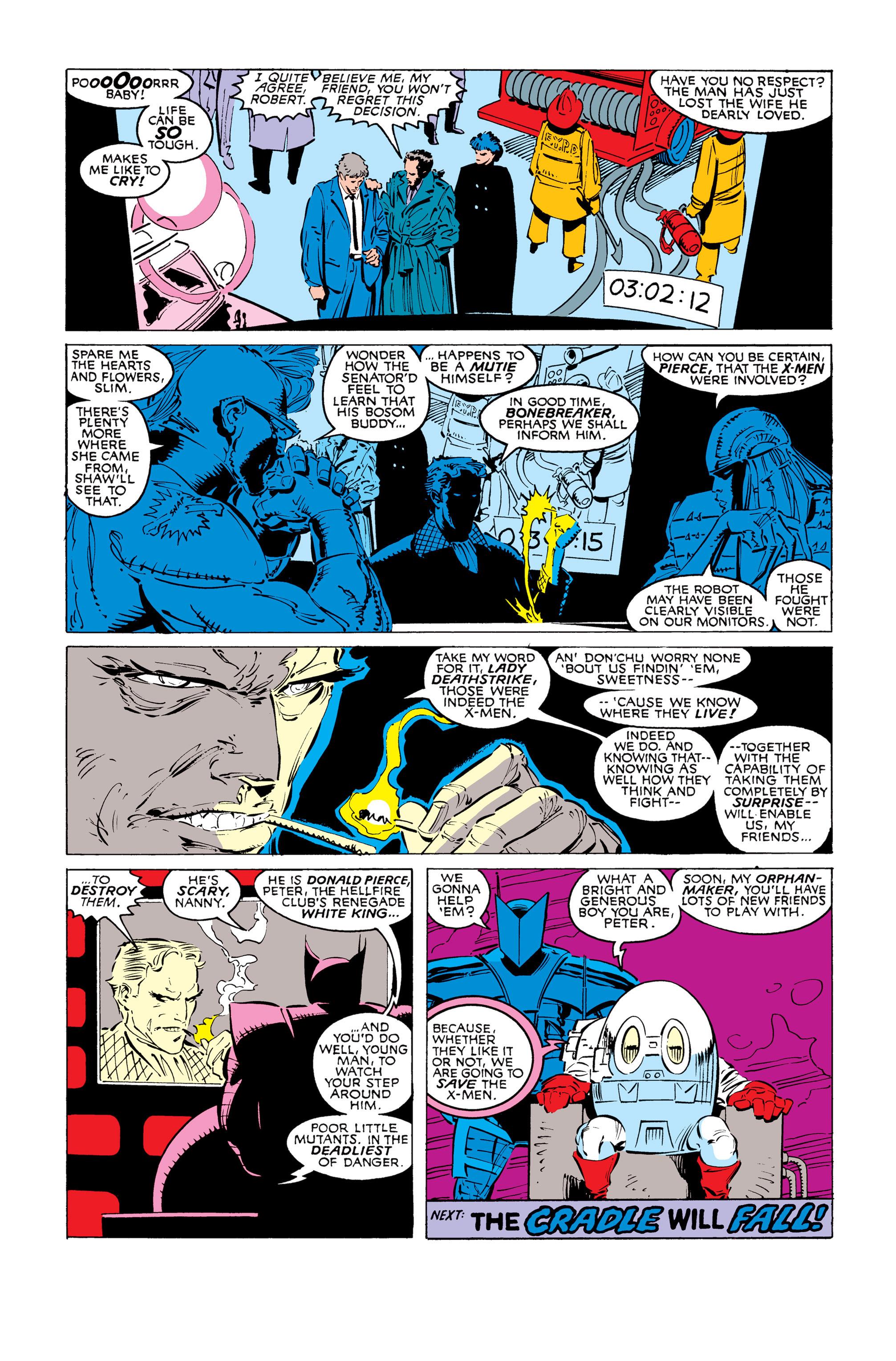 Read online Uncanny X-Men (1963) comic -  Issue #247 - 23