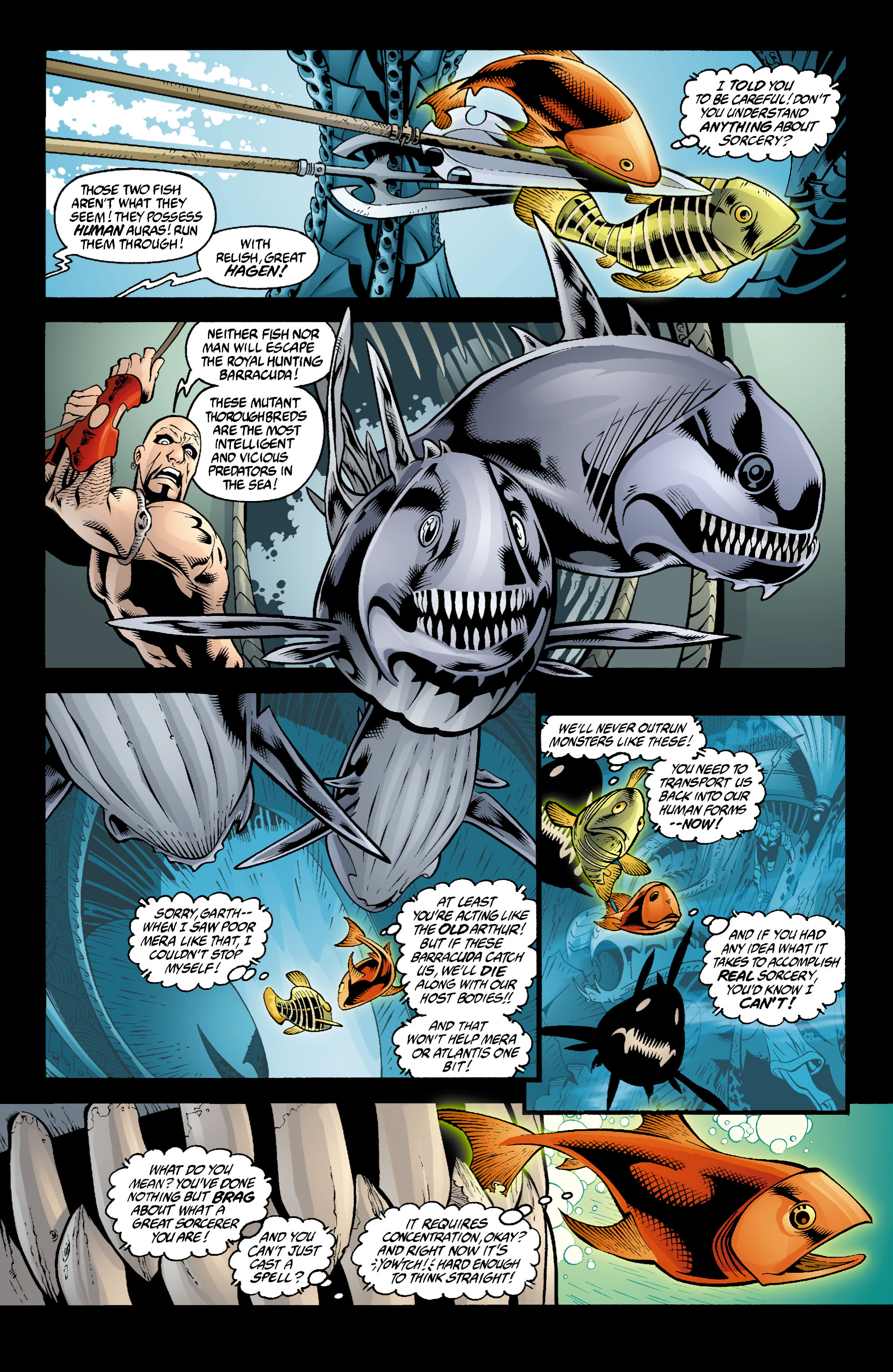 Read online Aquaman (2003) comic -  Issue #4 - 15