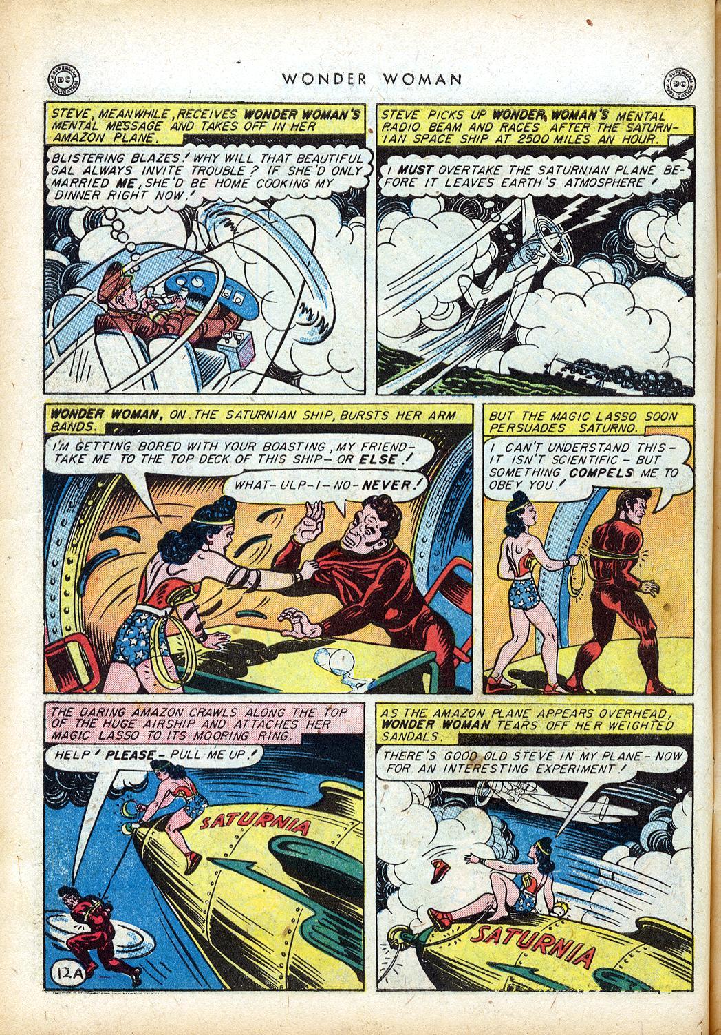 Read online Wonder Woman (1942) comic -  Issue #10 - 15