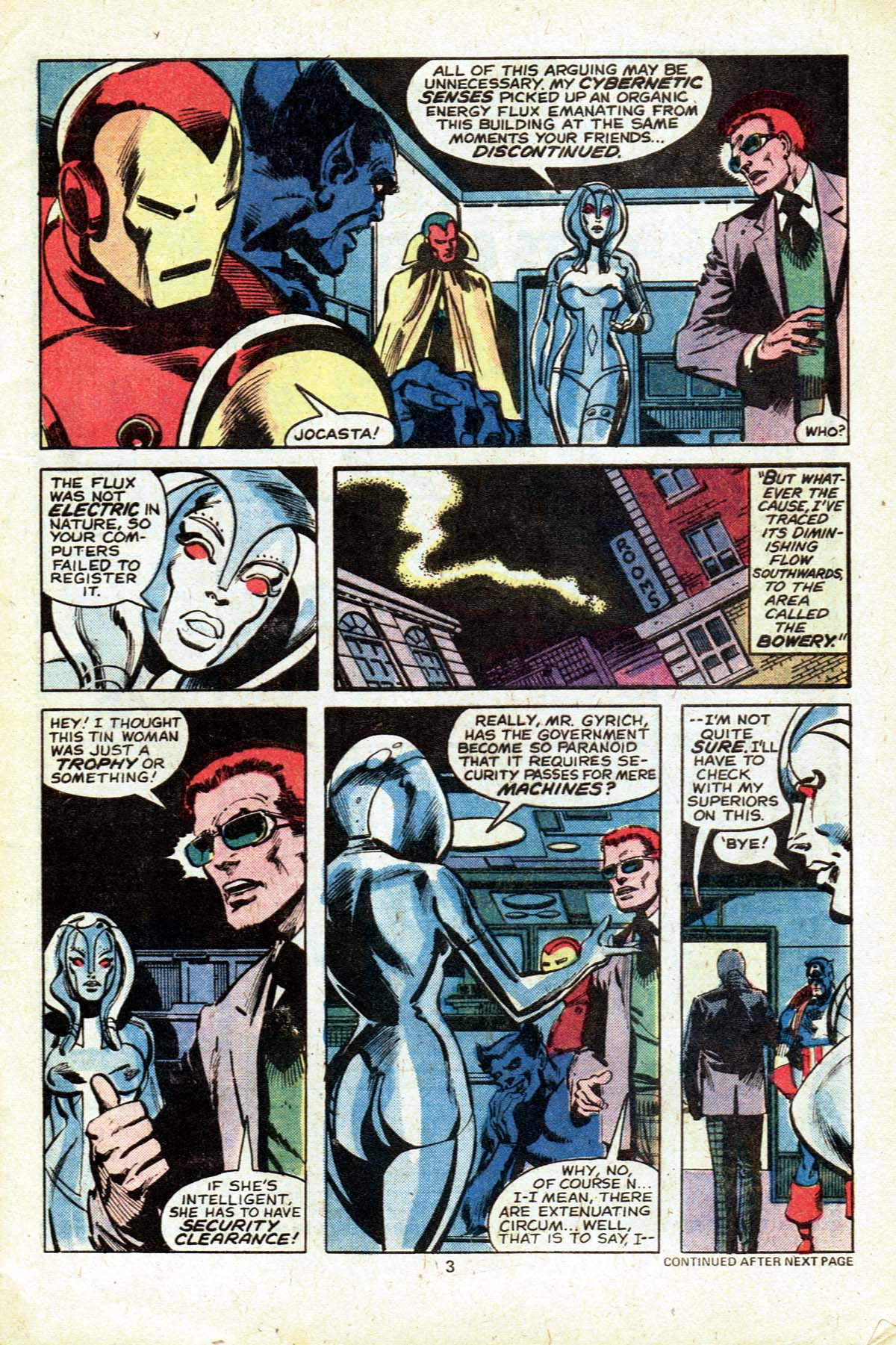 The Avengers (1963) 182 Page 3