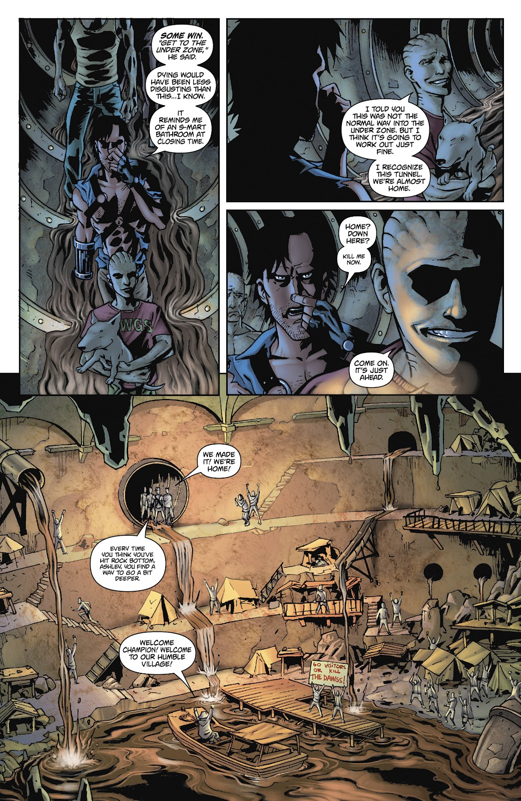 Army of Darkness: The Long Road Home issue TPB - Page 73