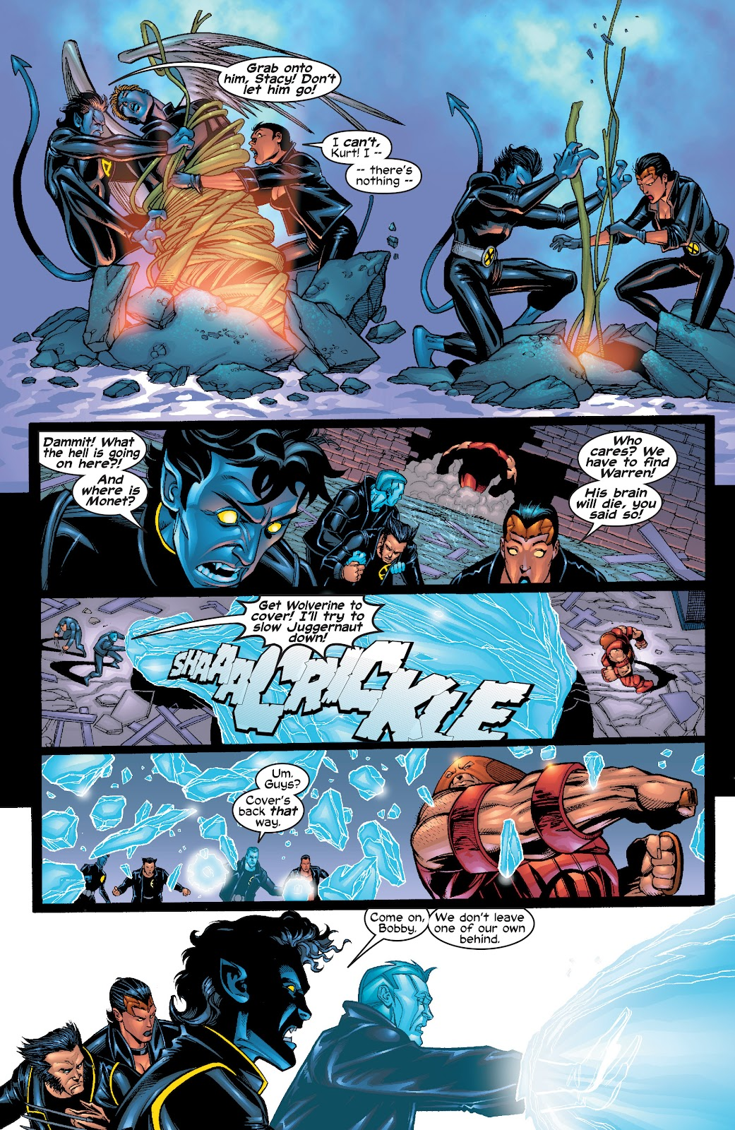 Read online X-Men: Unstoppable comic -  Issue # TPB (Part 1) - 32