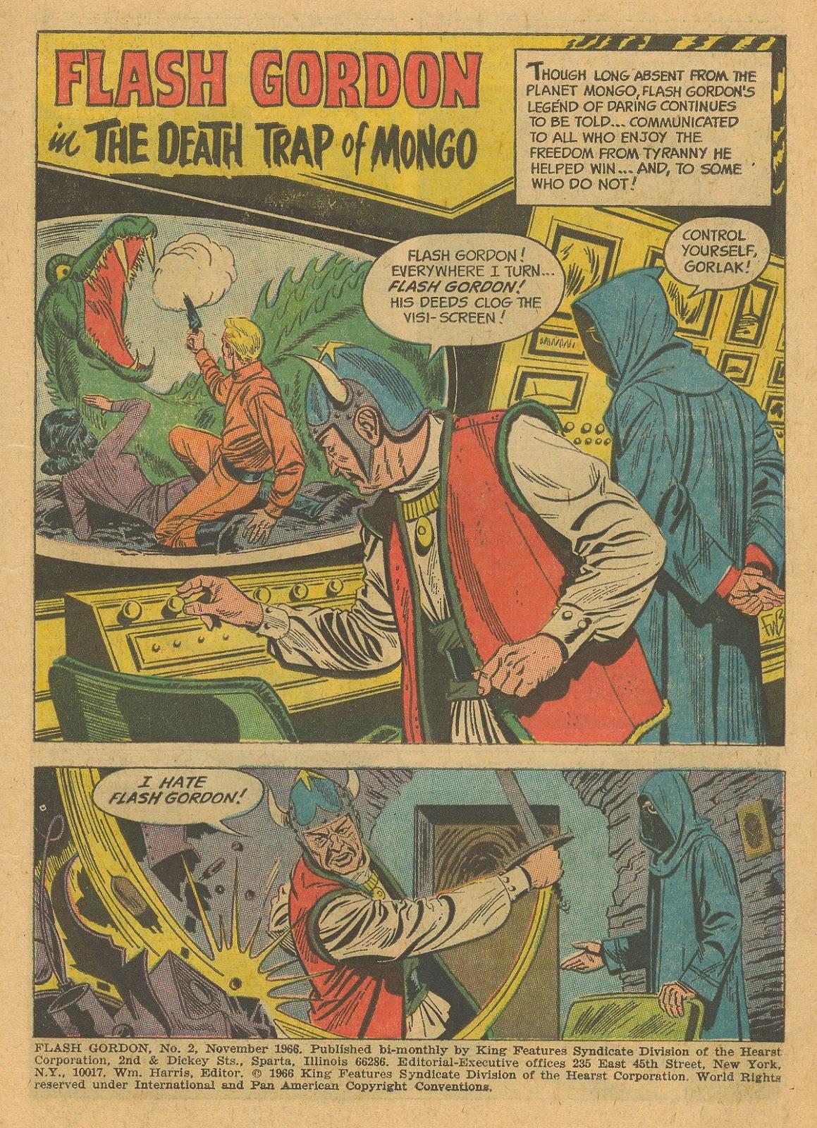Flash Gordon (1966) issue 2 - Page 3