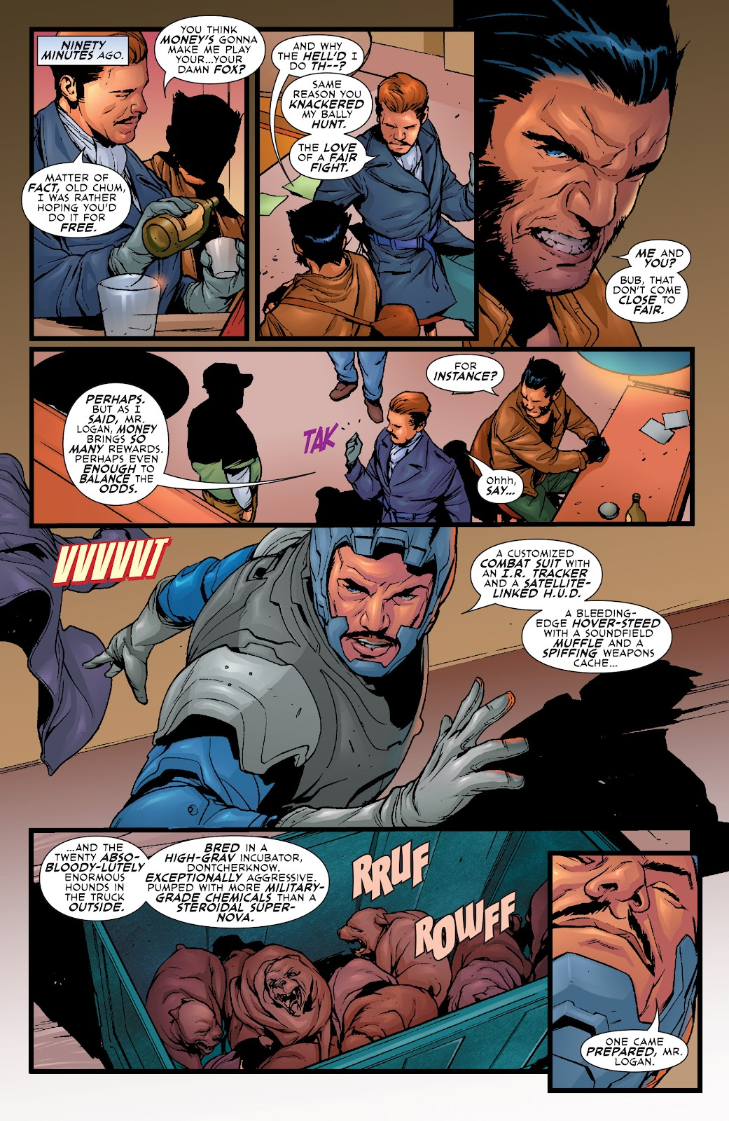 Wolverine: Dangerous Games issue Full - Page 18