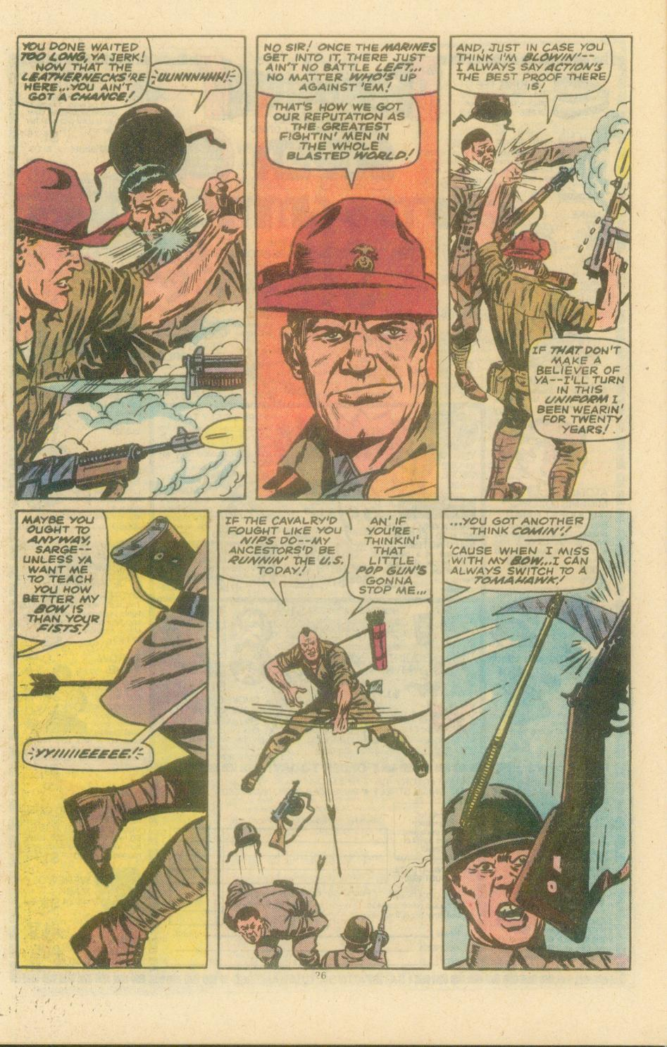 Read online Sgt. Fury comic -  Issue #154 - 28
