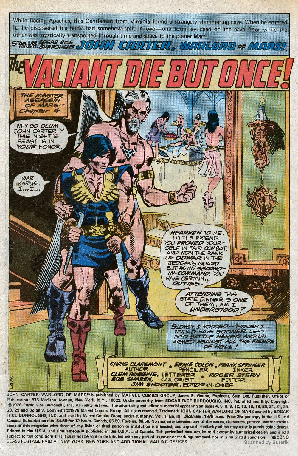 John Carter Warlord of Mars issue 19 - Page 3
