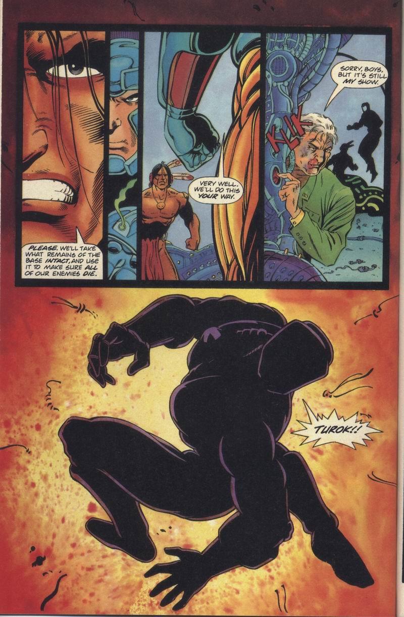 Read online Turok, Dinosaur Hunter (1993) comic -  Issue #19 - 20